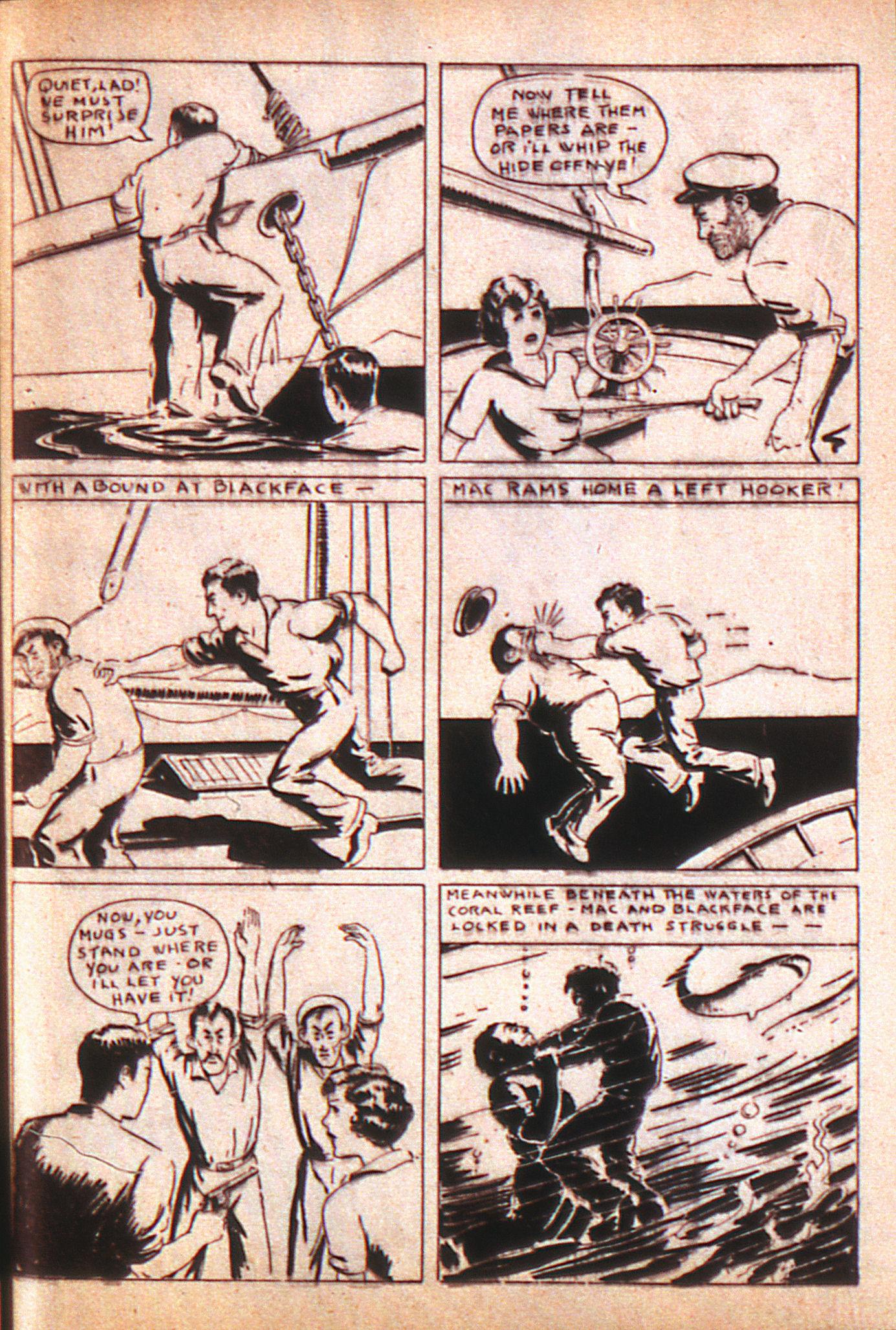 Read online Adventure Comics (1938) comic -  Issue #8 - 42