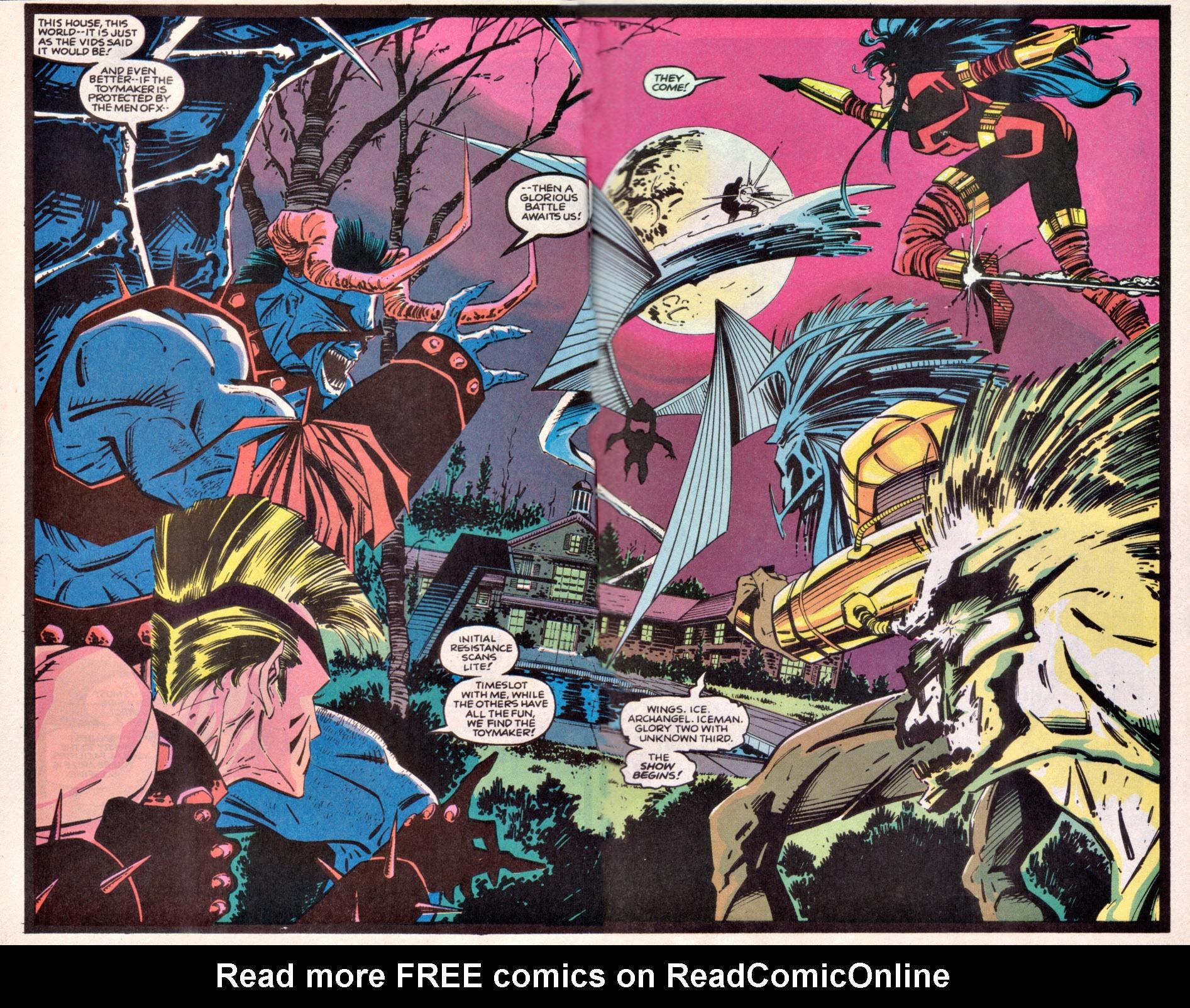 Read online Uncanny X-Men (1963) comic -  Issue # _Annual 16 - 21