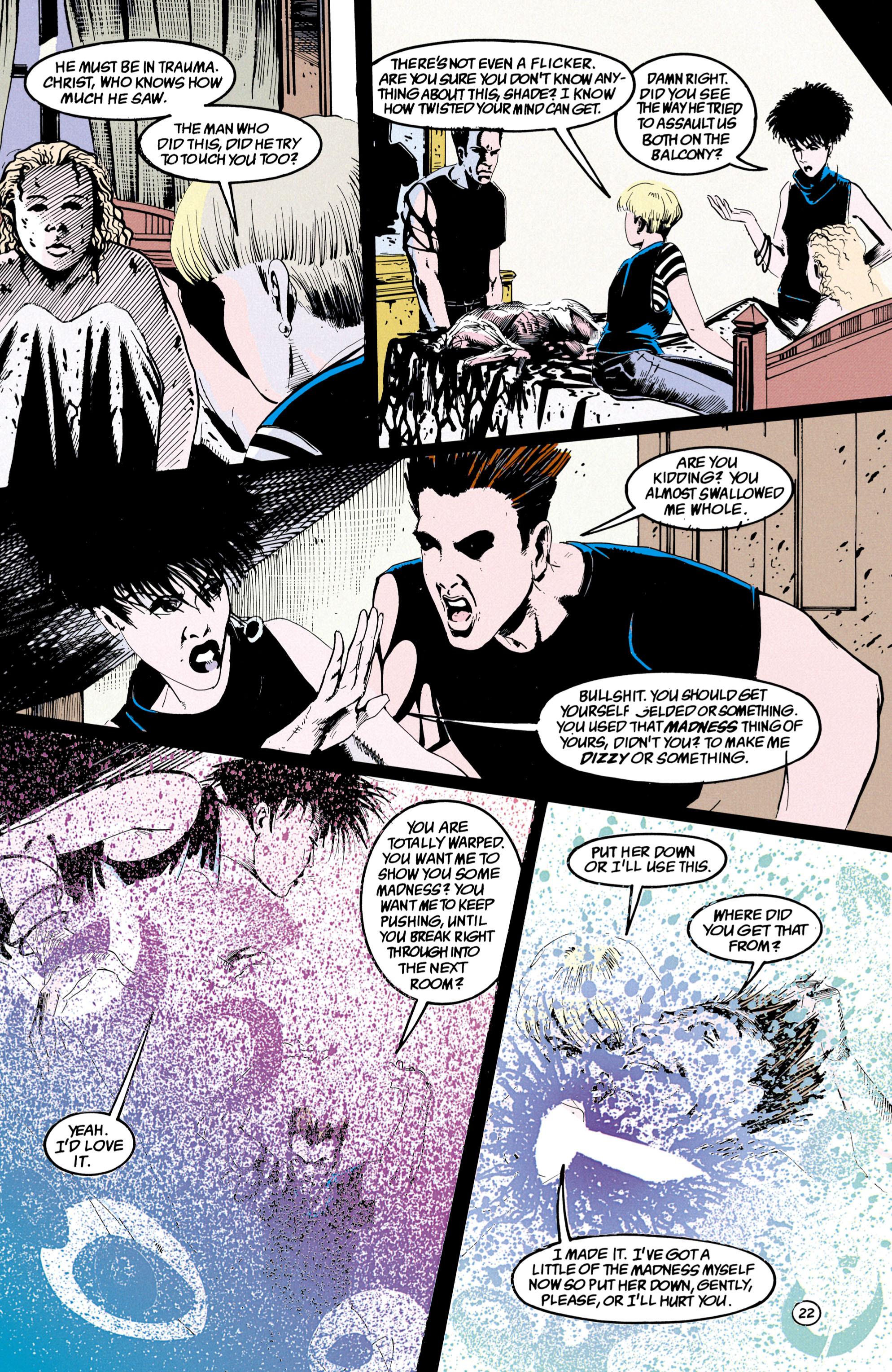 Read online Shade, the Changing Man comic -  Issue #36 - 23