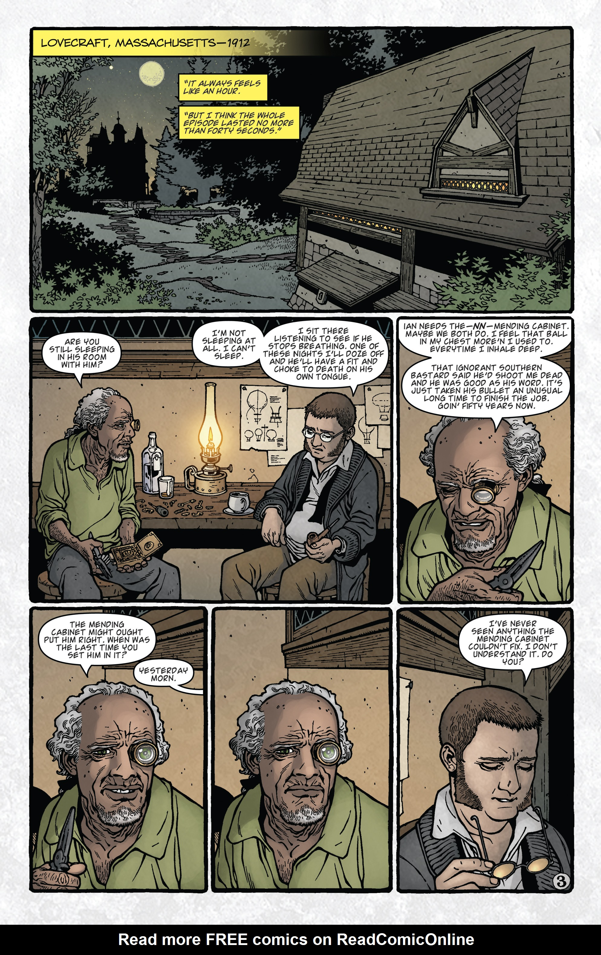 Read online Locke & Key: Guide to the Known Keys comic -  Issue # Full - 5