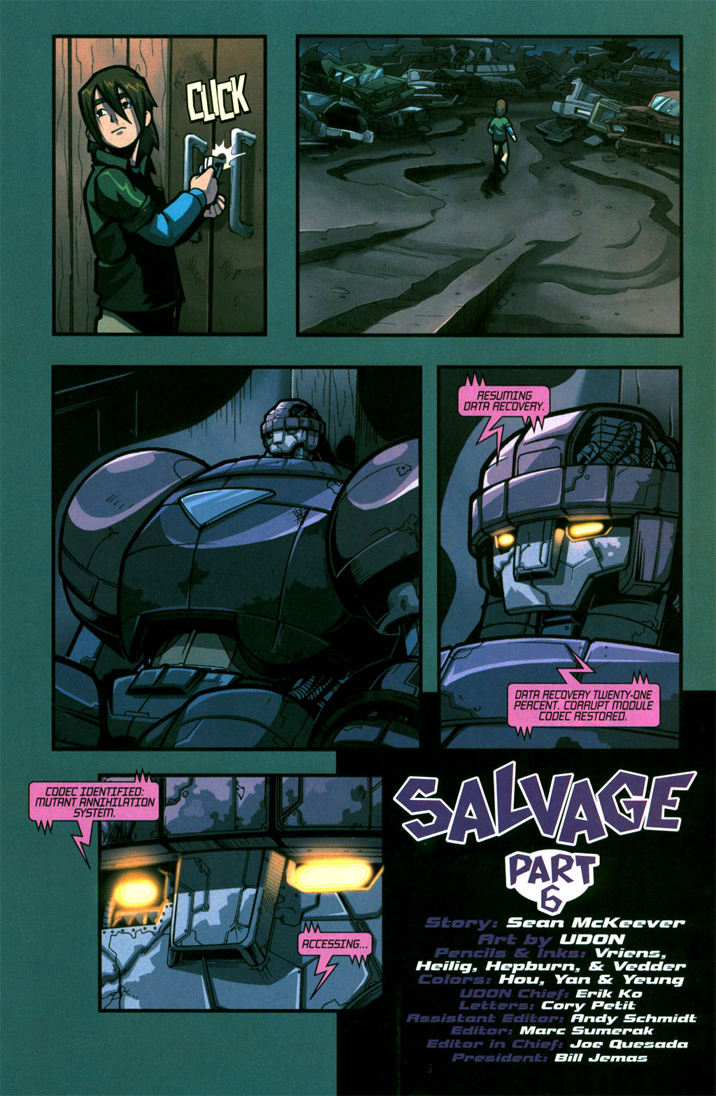 Read online Sentinel comic -  Issue #6 - 23