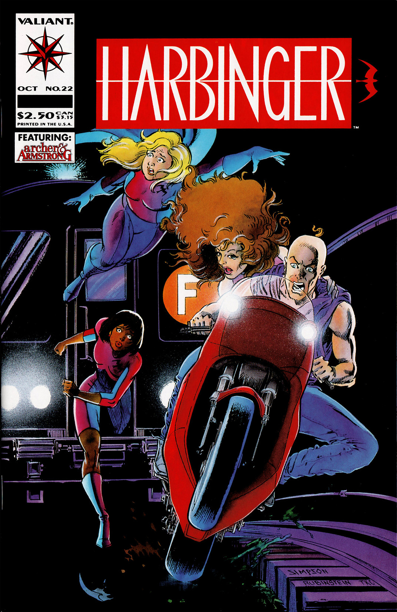 Read online Harbinger (1992) comic -  Issue #22 - 1