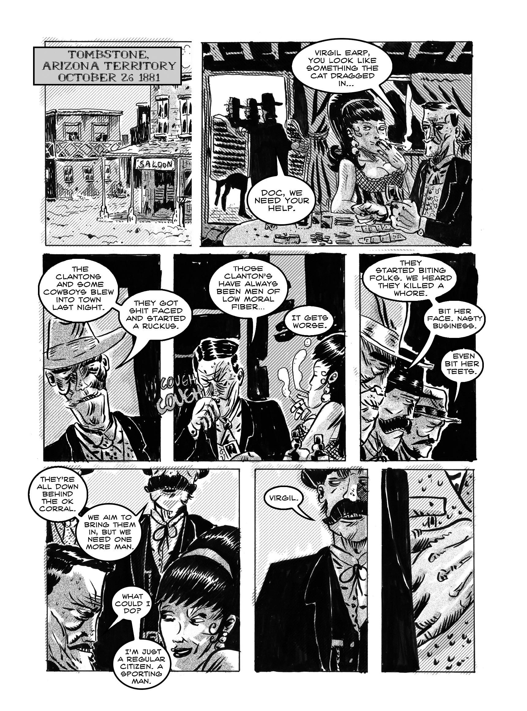 Read online FUBAR comic -  Issue #3 - 163