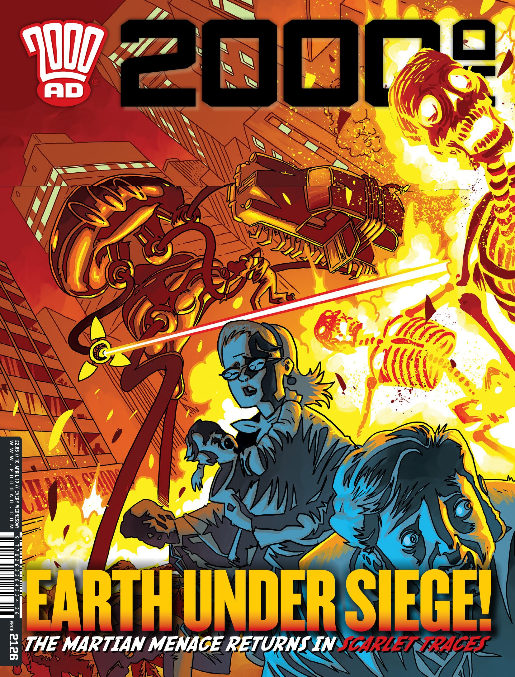2000 AD 2126 Page 1