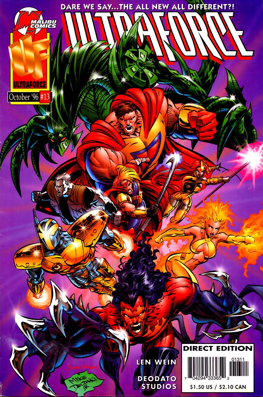 Read online UltraForce (1995) comic -  Issue #13 - 1