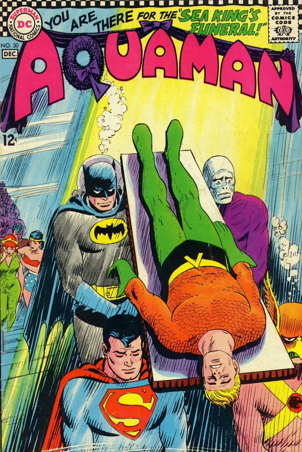 Read online Aquaman (1962) comic -  Issue #30 - 1