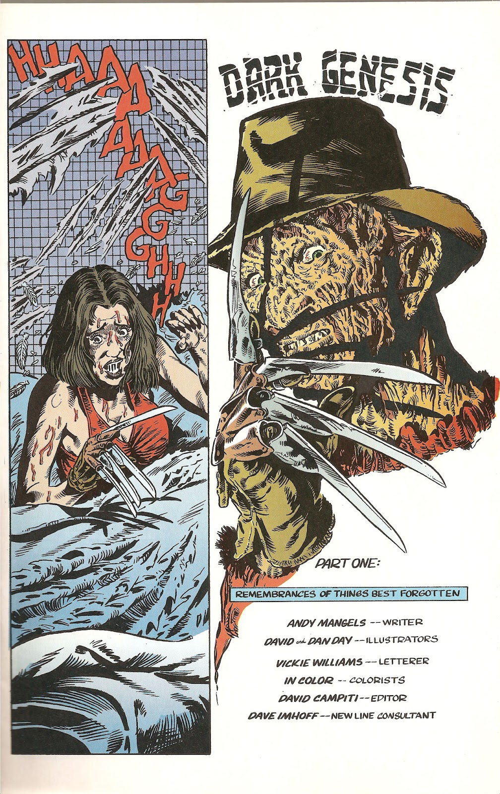 Read online A Nightmare on Elm Street: The Beginning comic -  Issue #1 - 5