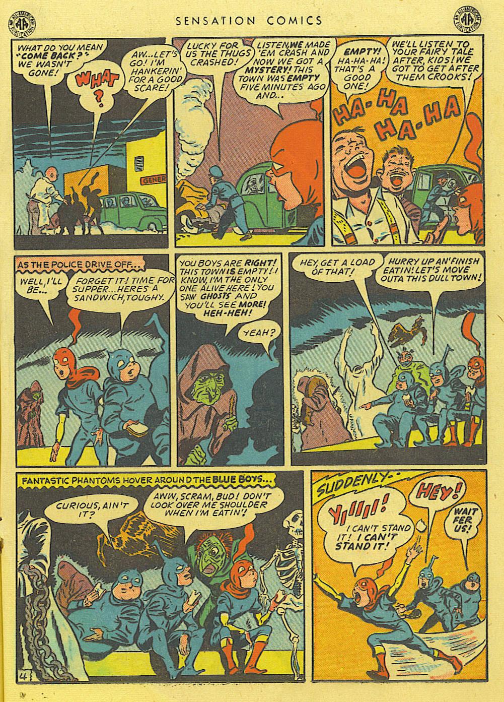 Read online Sensation (Mystery) Comics comic -  Issue #39 - 25