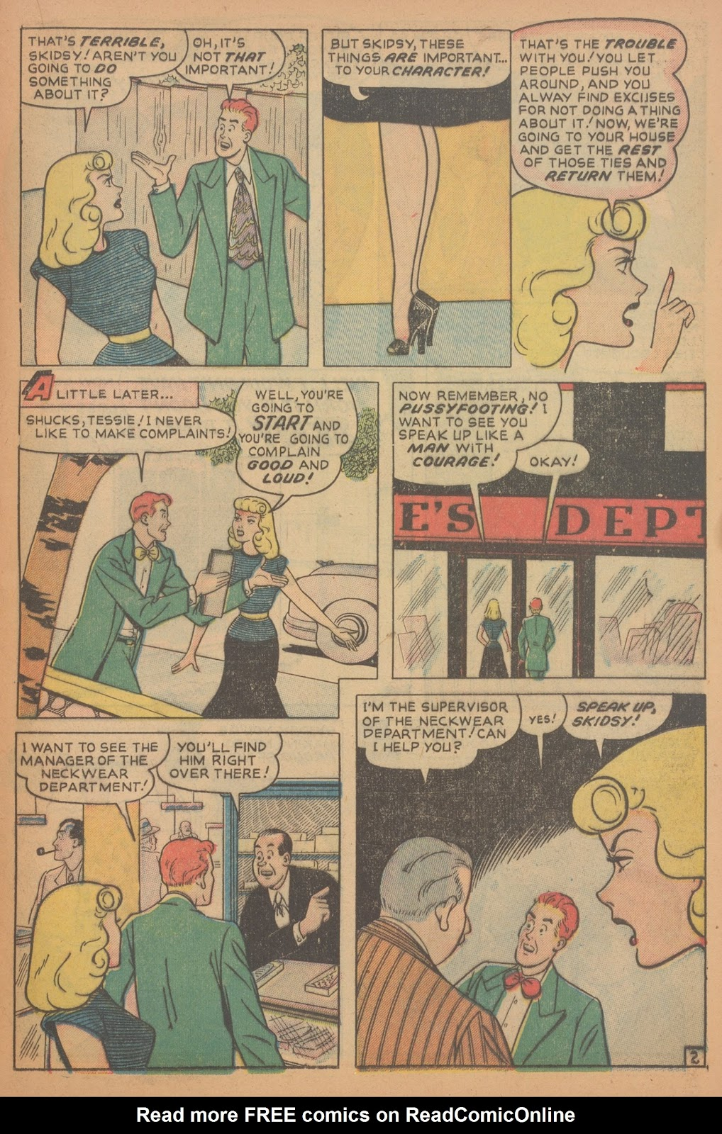 Read online Nellie The Nurse (1945) comic -  Issue #18 - 33