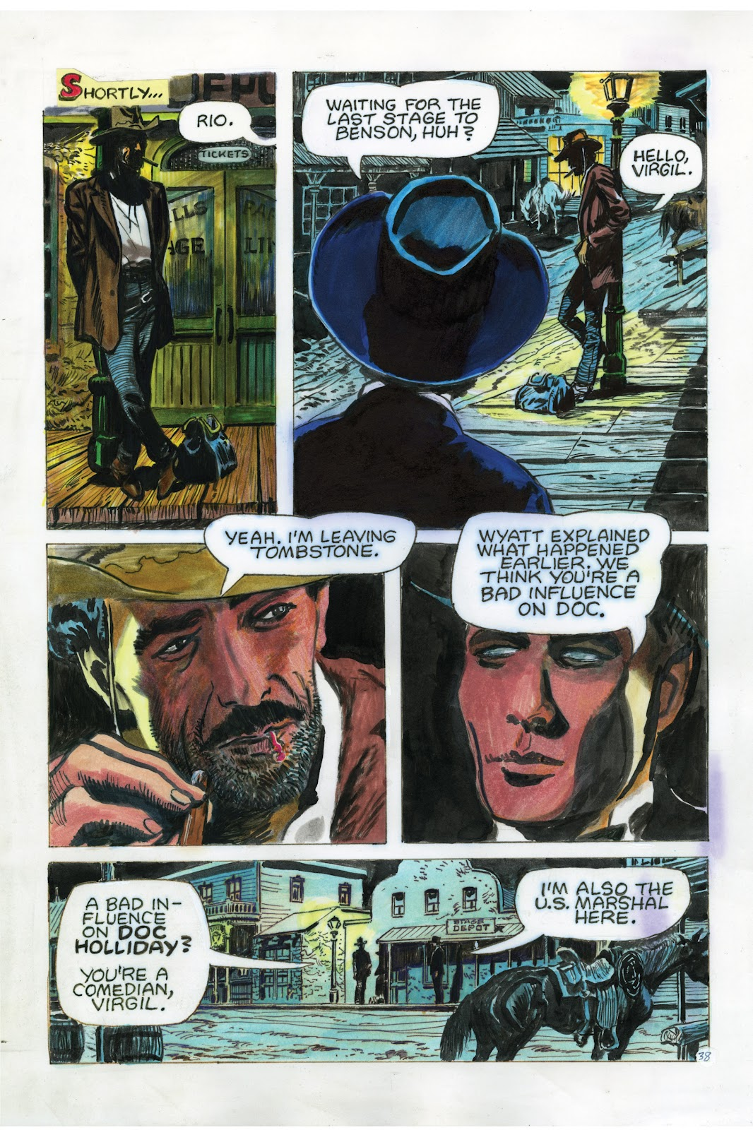 Read online Doug Wildey's Rio: The Complete Saga comic -  Issue # TPB (Part 3) - 26