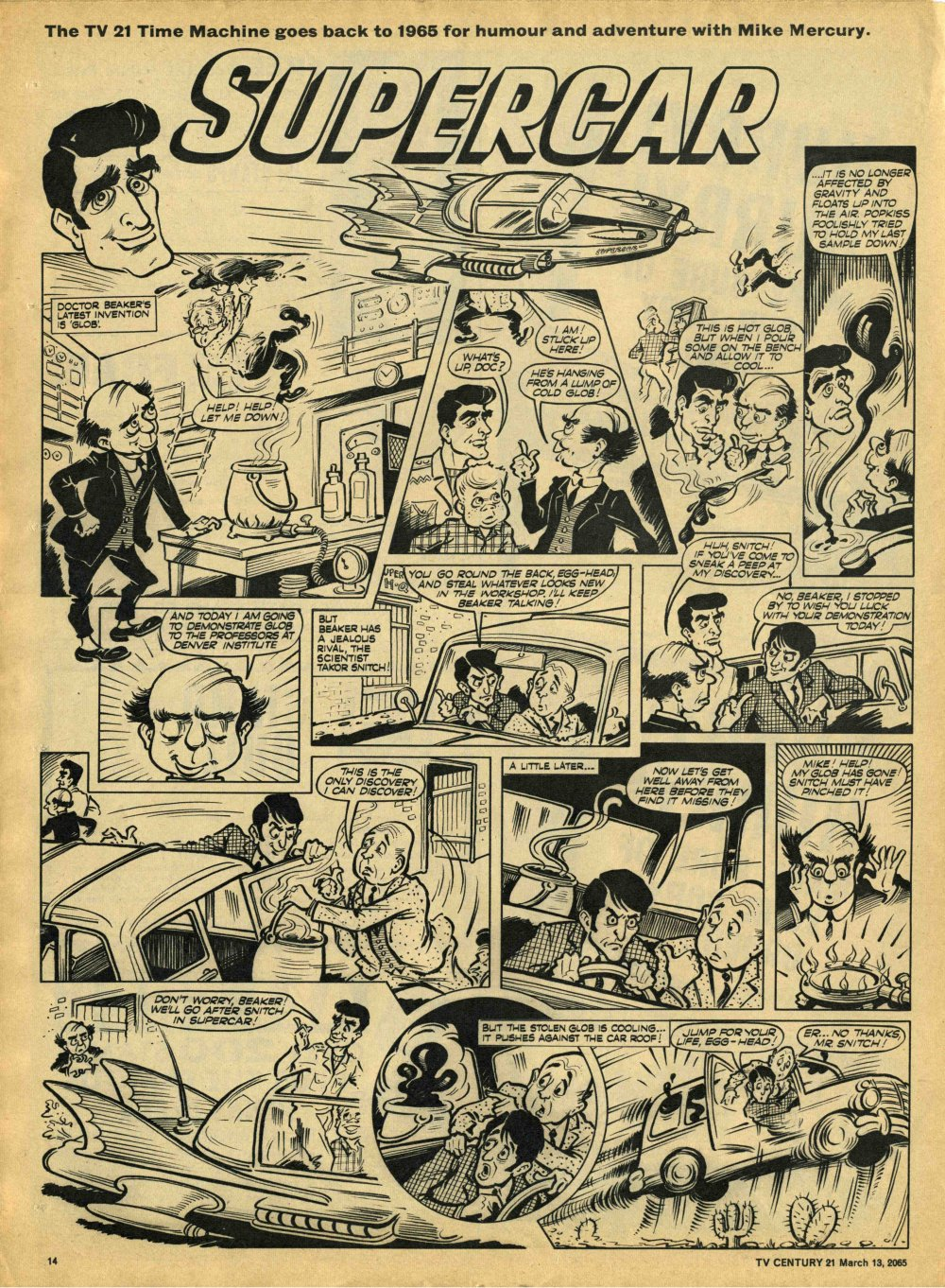 Read online TV Century 21 (TV 21) comic -  Issue #8 - 13