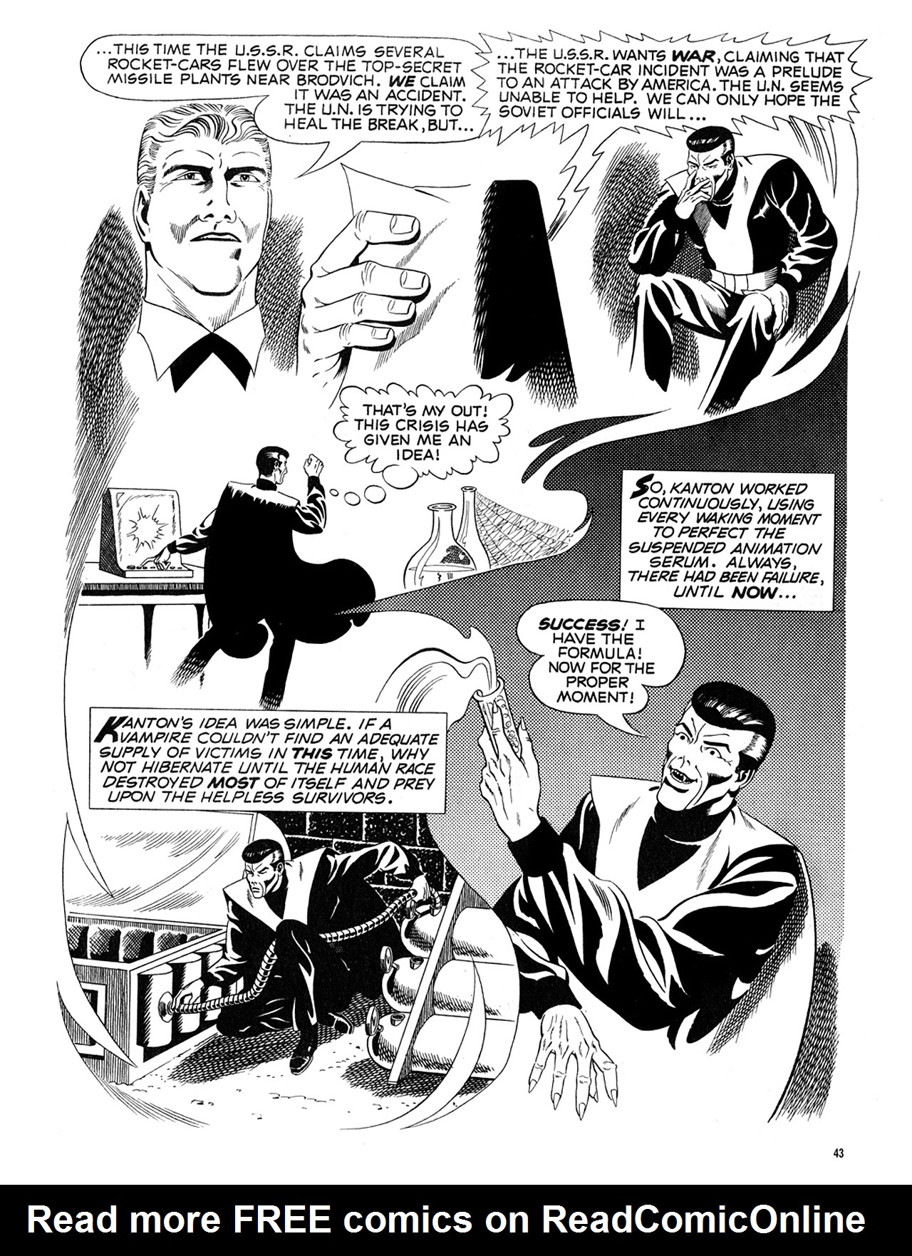 Read online Eerie Archives comic -  Issue # TPB 5 - 44