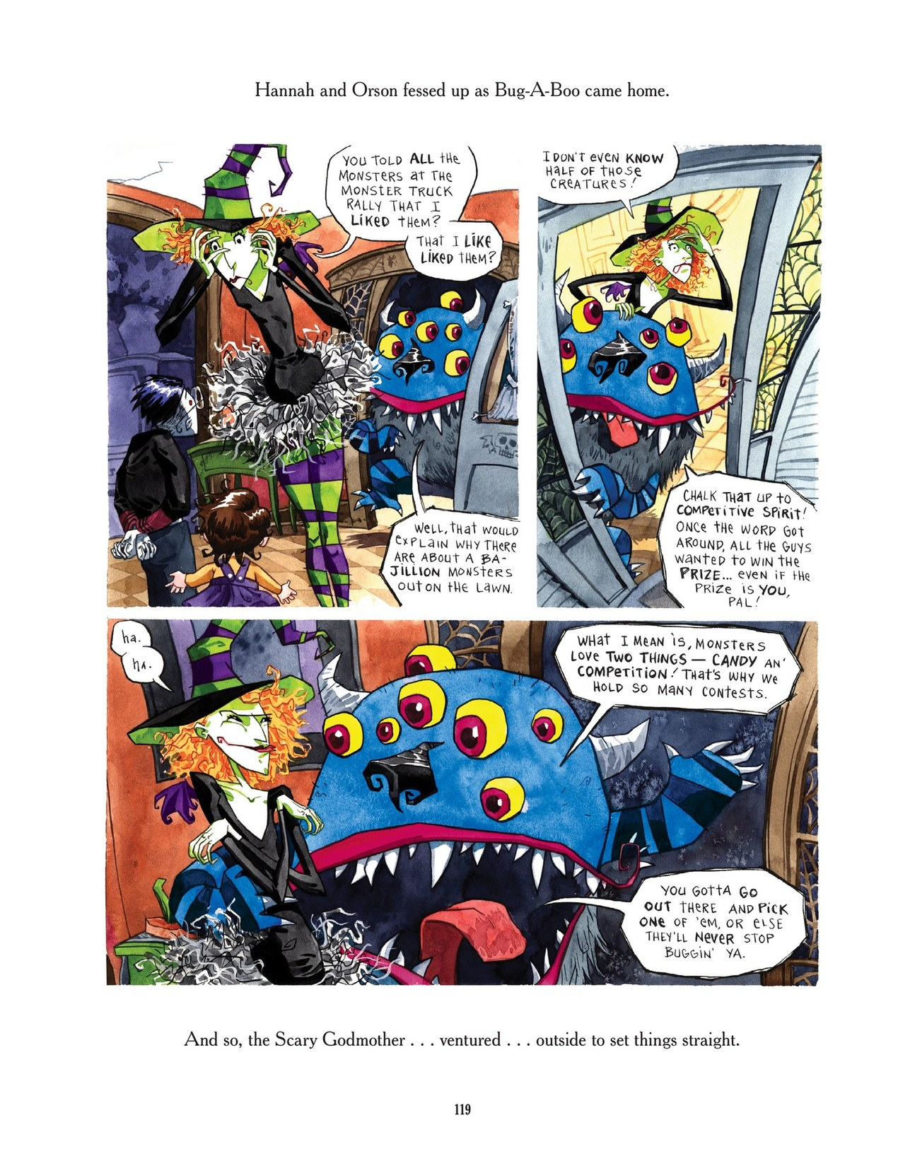 Read online Scary Godmother comic -  Issue # TPB - 119