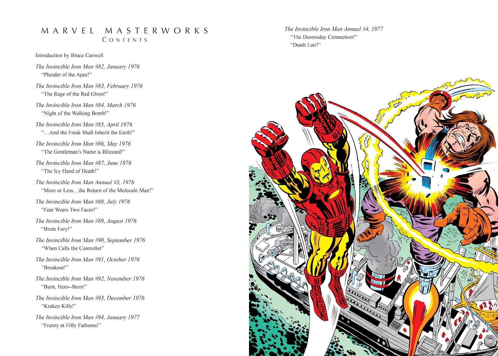 Read online Marvel Masterworks: The Invincible Iron Man comic -  Issue # TPB 11 (Part 1) - 4