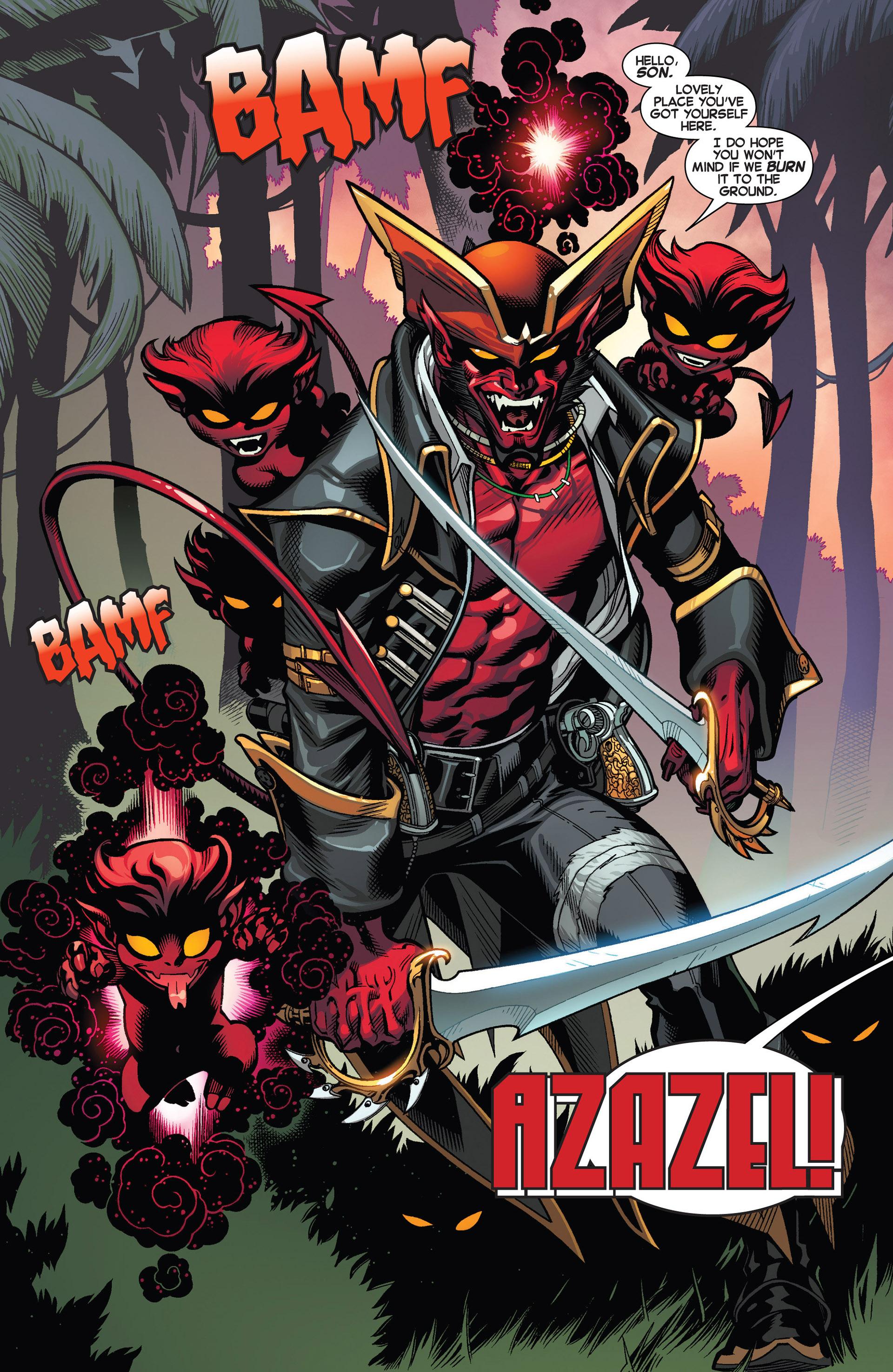 Read online Amazing X-Men (2014) comic -  Issue #1 - 10