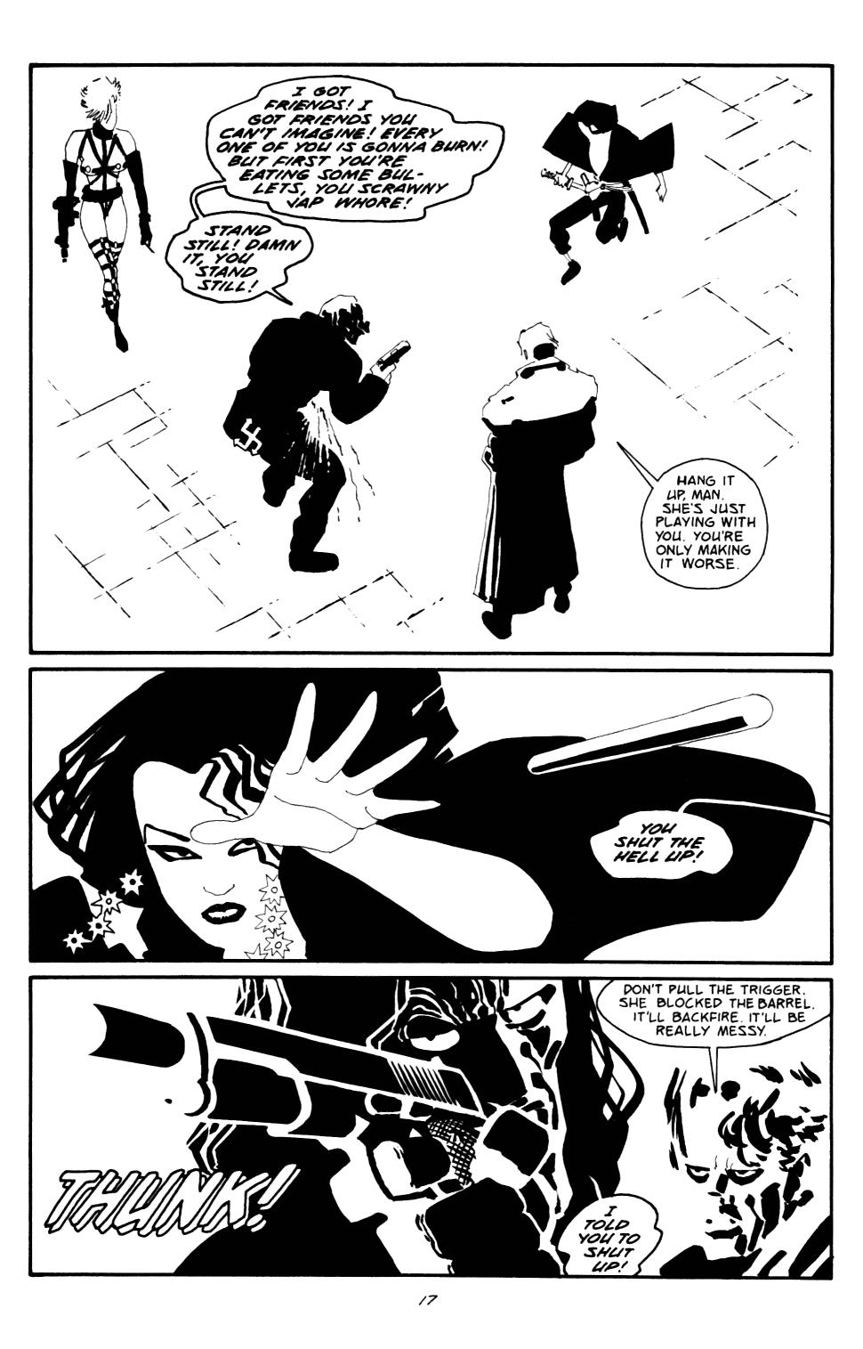 Read online Sin City: The Big Fat Kill comic -  Issue #2 - 18