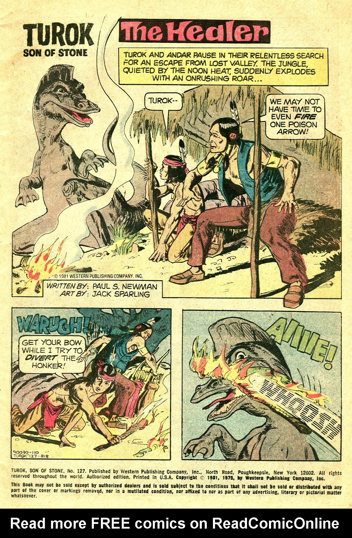 Read online Turok, Son of Stone comic -  Issue #127 - 3