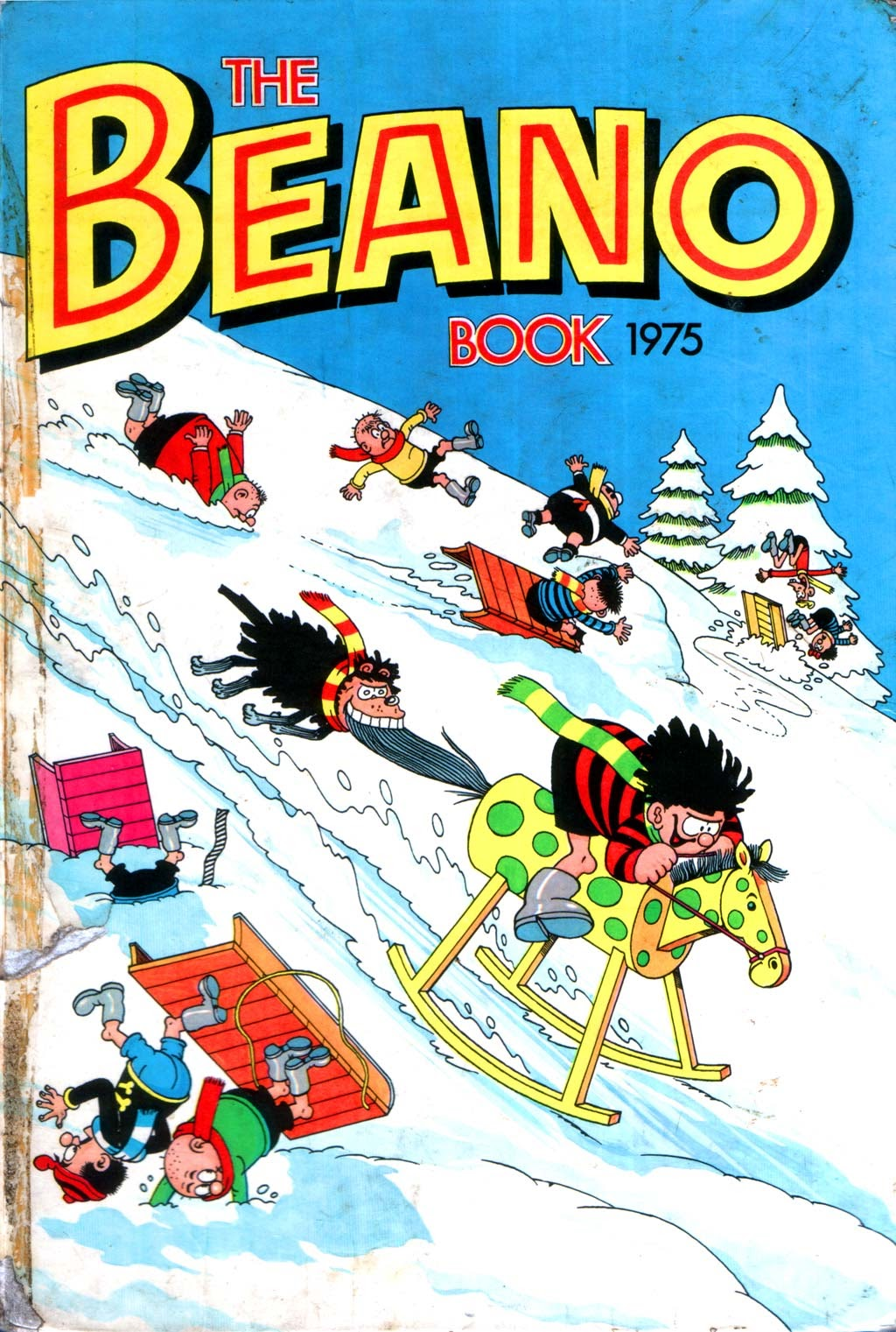 The Beano Book (Annual) 1975 Page 1