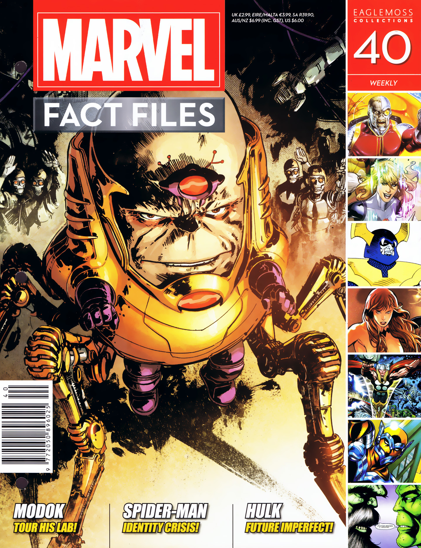 Marvel Fact Files 40 Page 1
