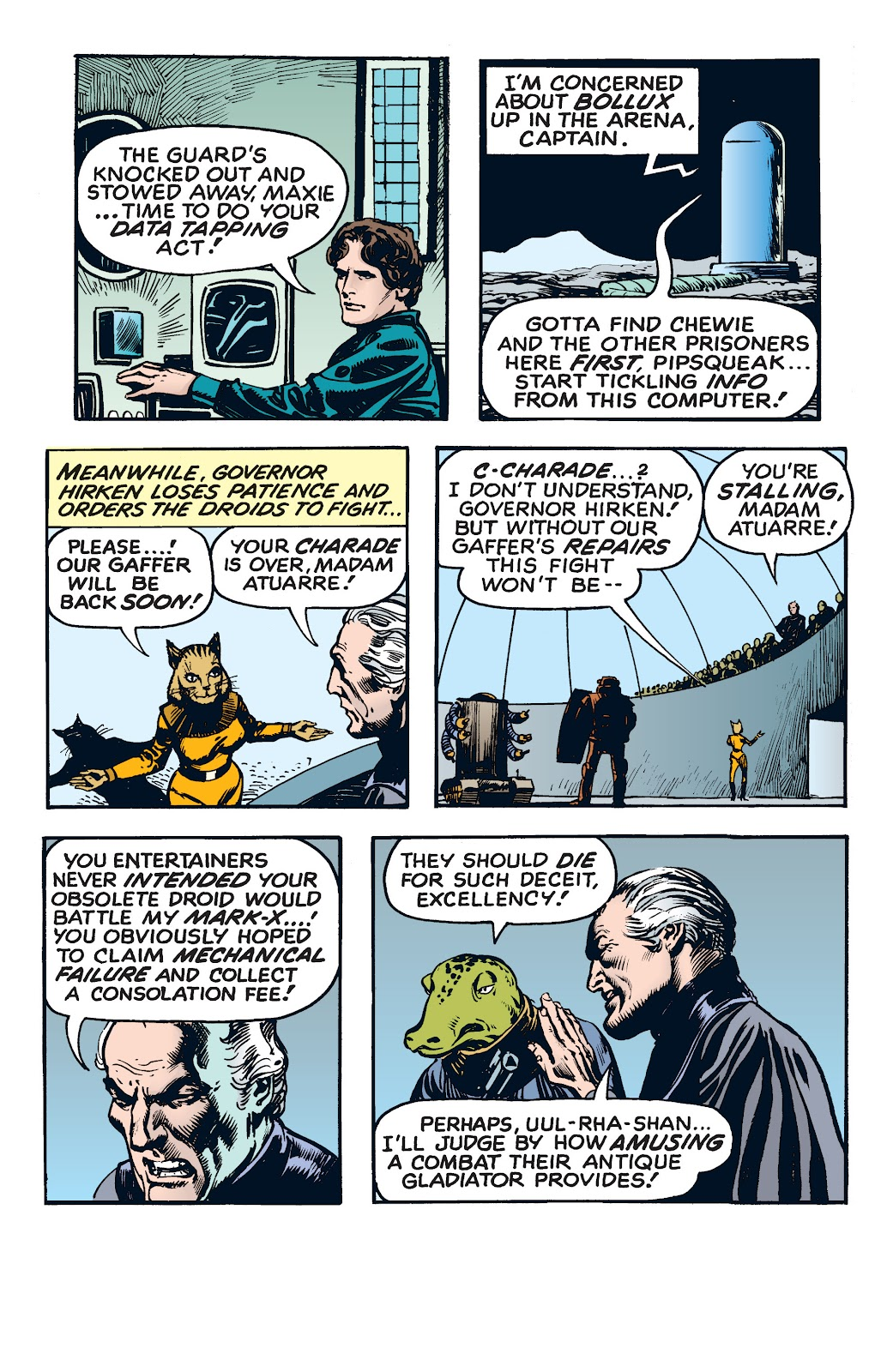 Read online Star Wars Legends: The Newspaper Strips - Epic Collection comic -  Issue # TPB (Part 4) - 58