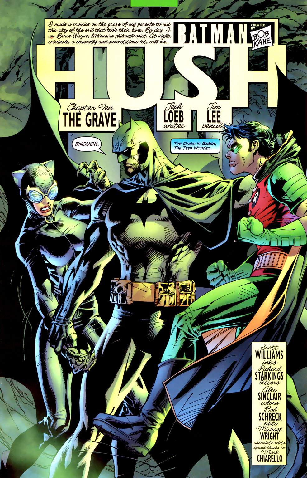Read online Batman: Hush comic -  Issue #10 - 5