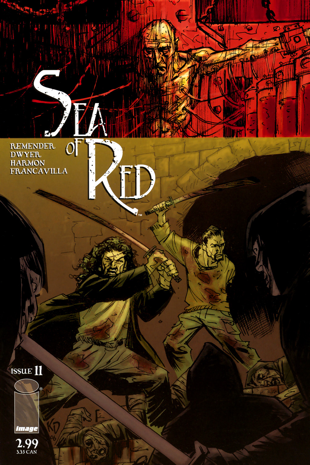 Read online Sea of Red comic -  Issue #11 - 1