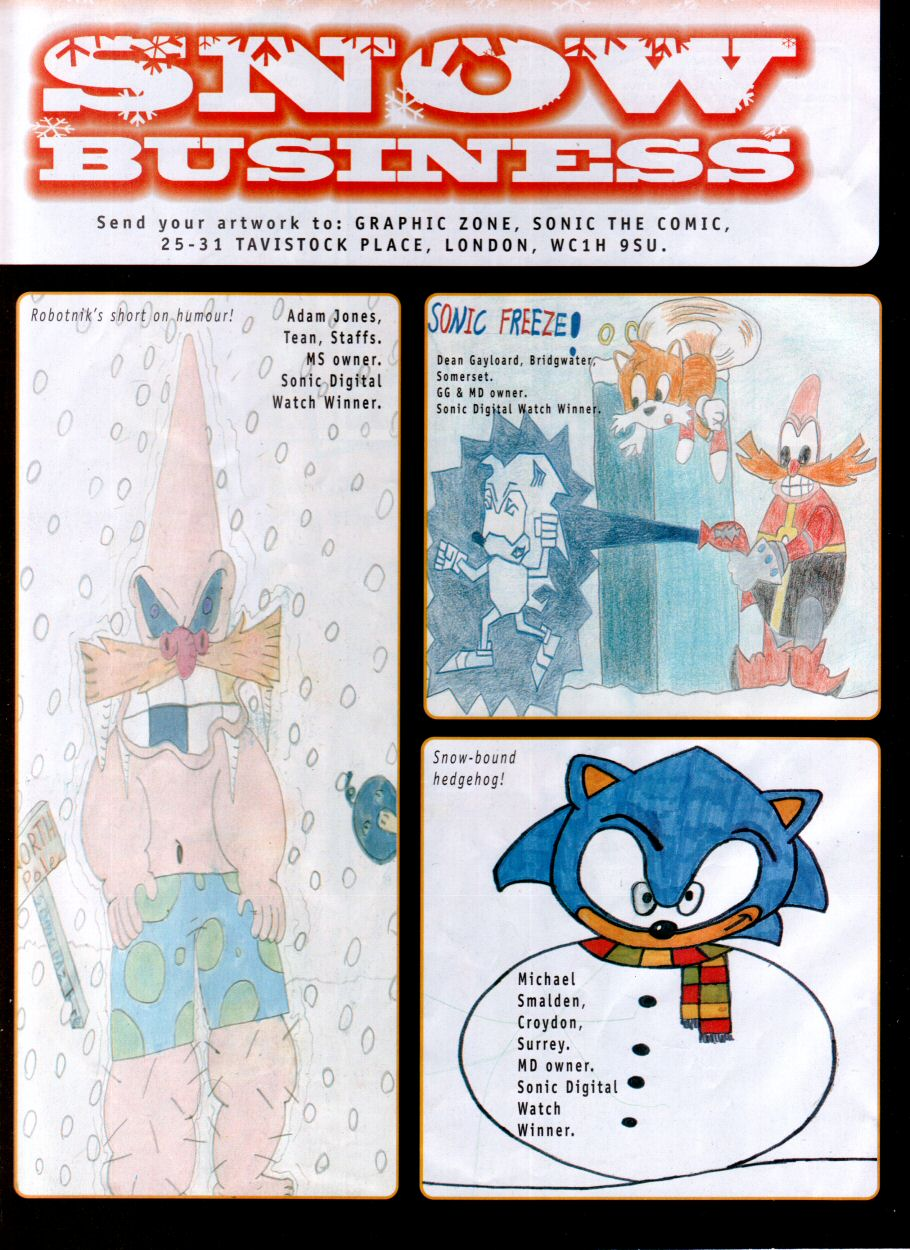 Read online Sonic the Comic comic -  Issue #118 - 26
