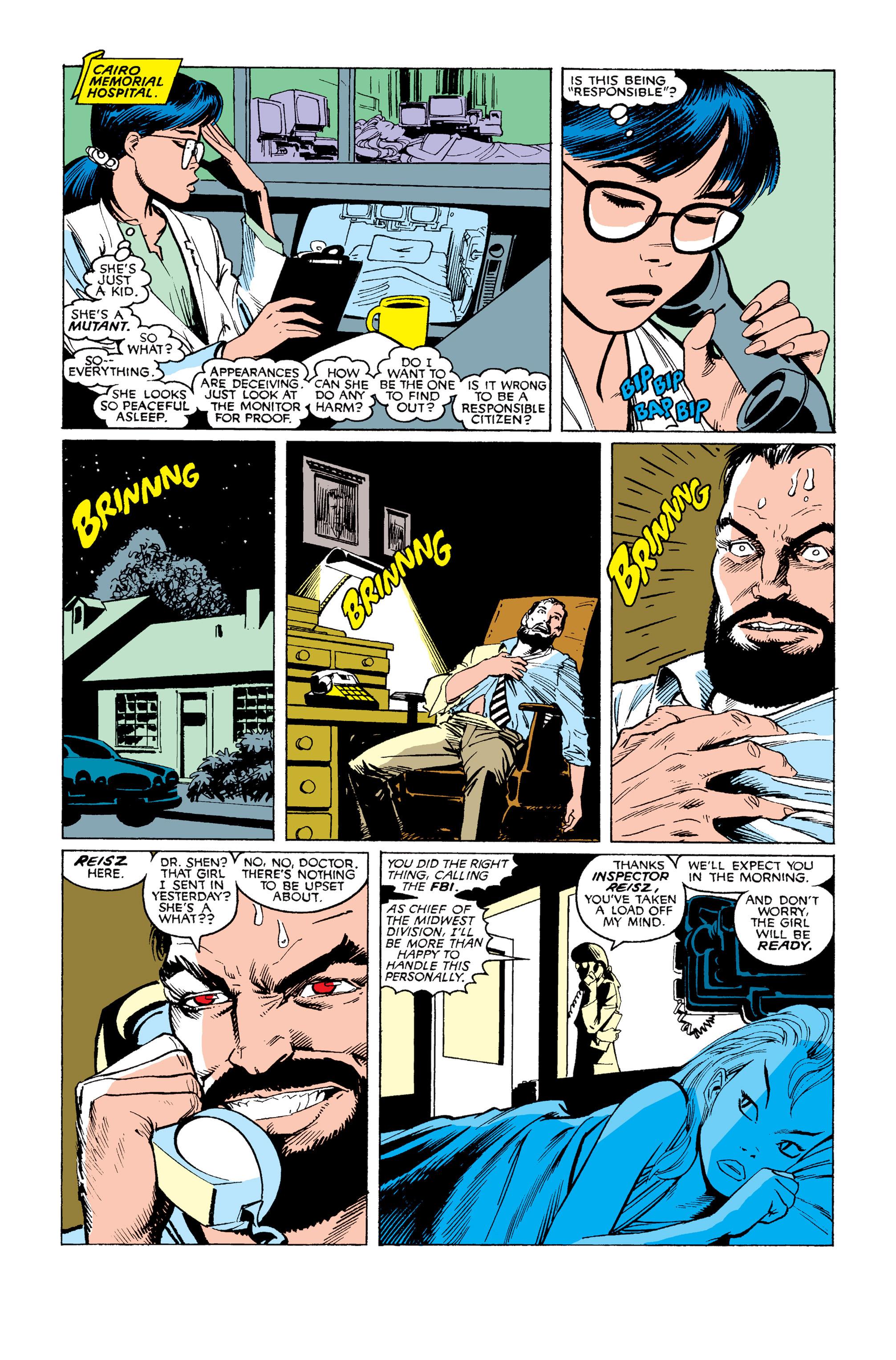 Read online Uncanny X-Men (1963) comic -  Issue #253 - 23