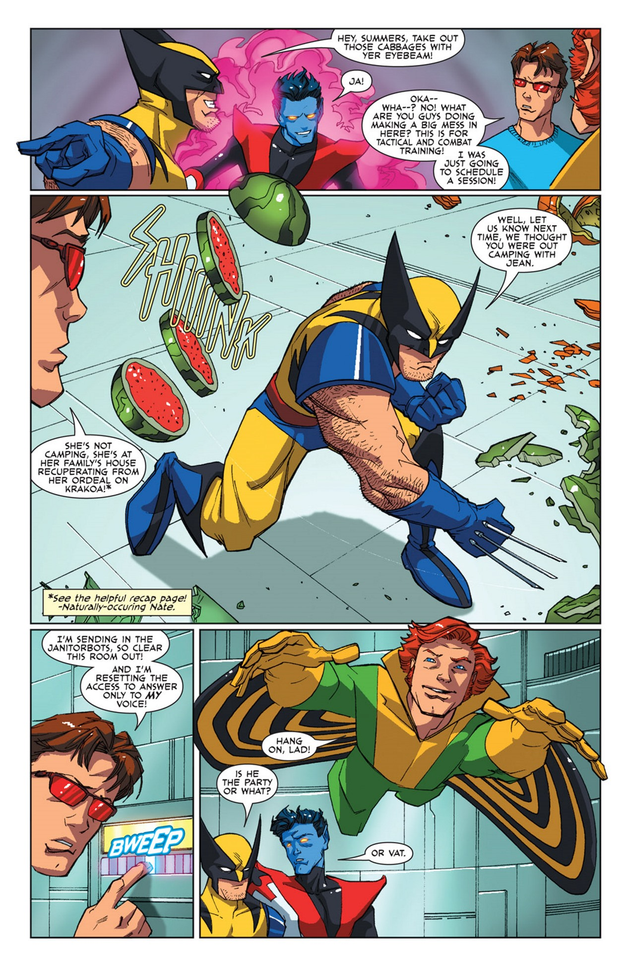 Read online Uncanny X-Men: First Class Giant-Size Special comic -  Issue # Full - 5
