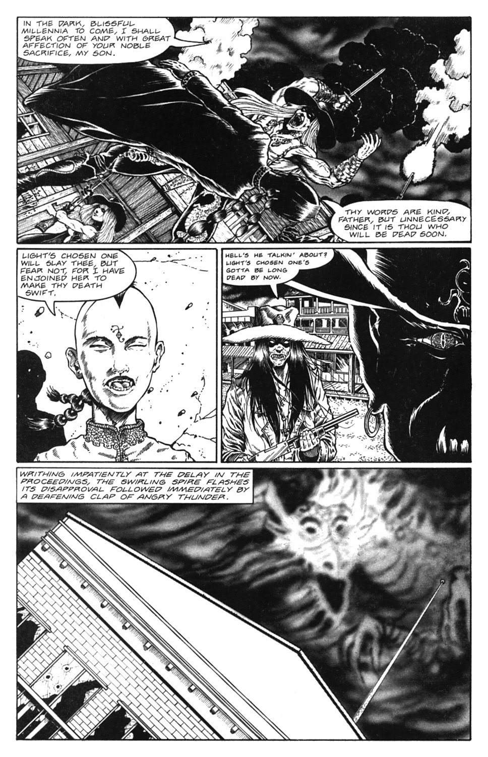 Read online Gunfighters in Hell comic -  Issue #5 - 28