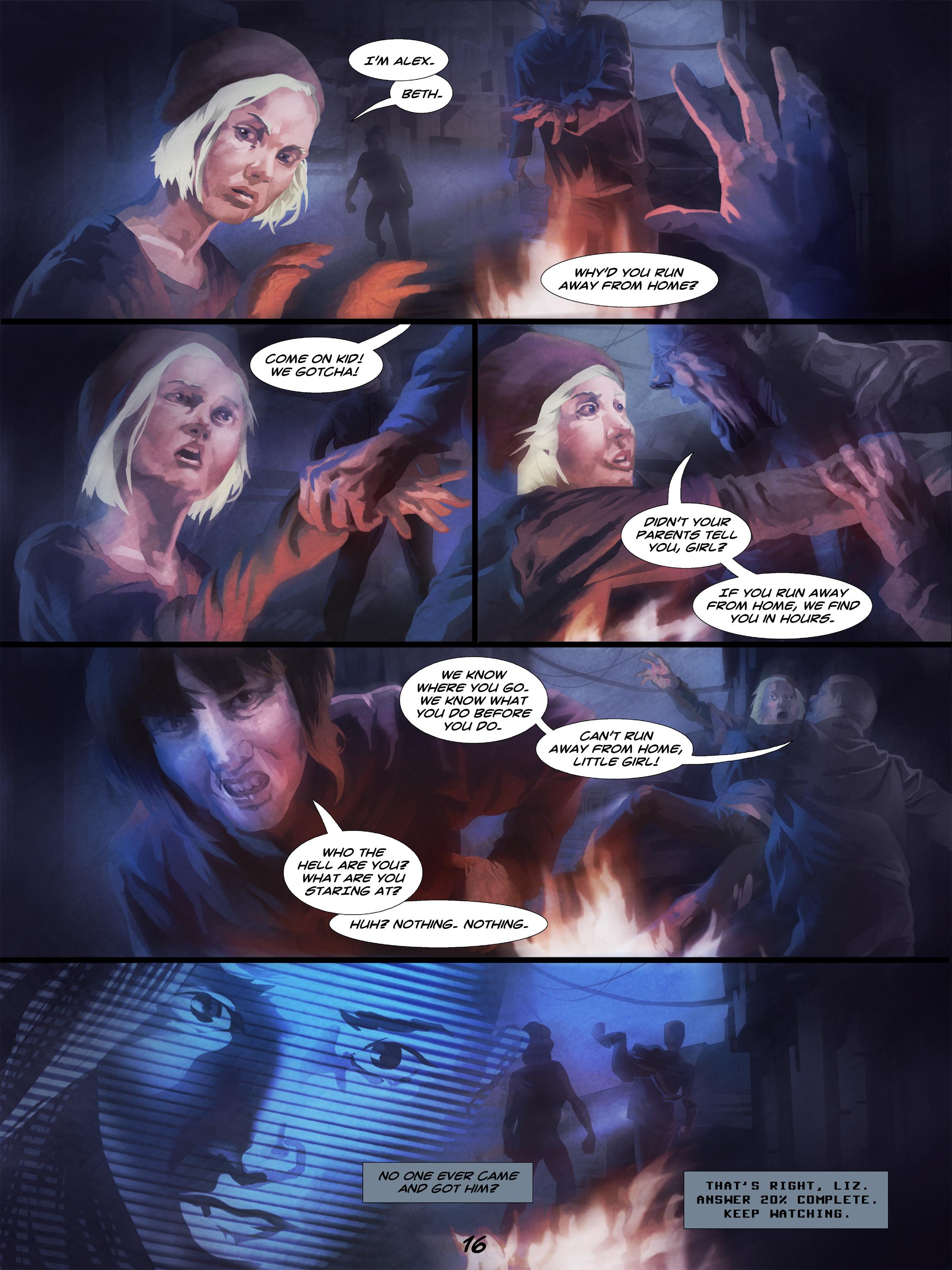 Read online Wynter comic -  Issue #5 - 17