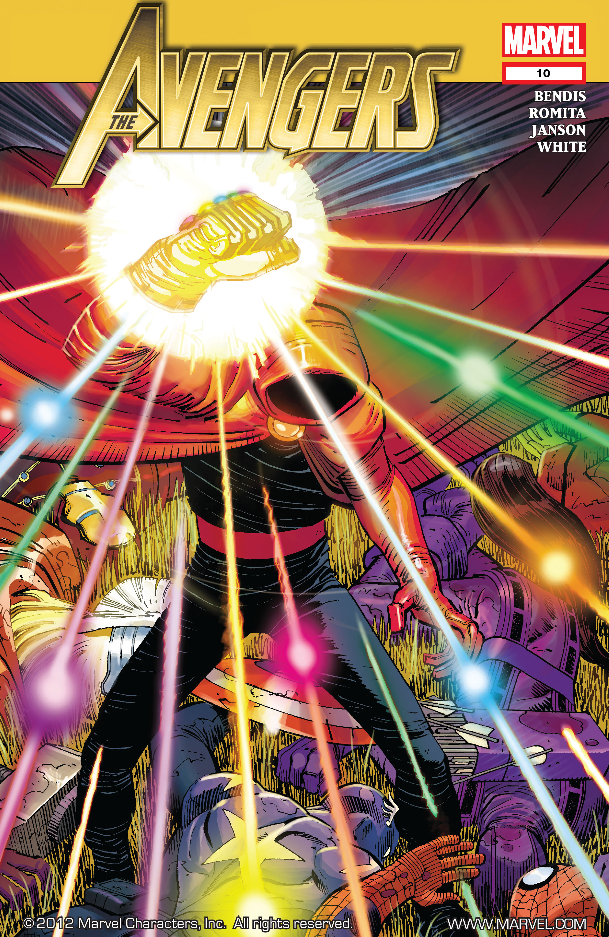Read online Avengers (2010) comic -  Issue #10 - 1