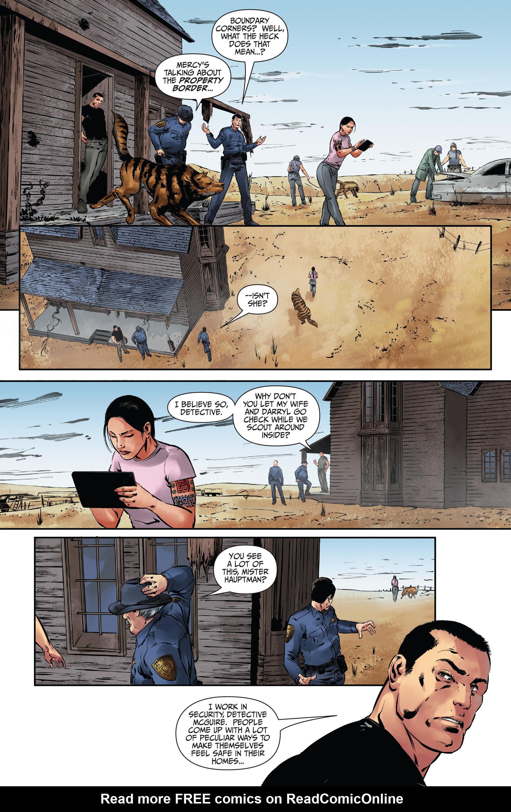 Read online Mercy Thompson comic -  Issue #3 - 3