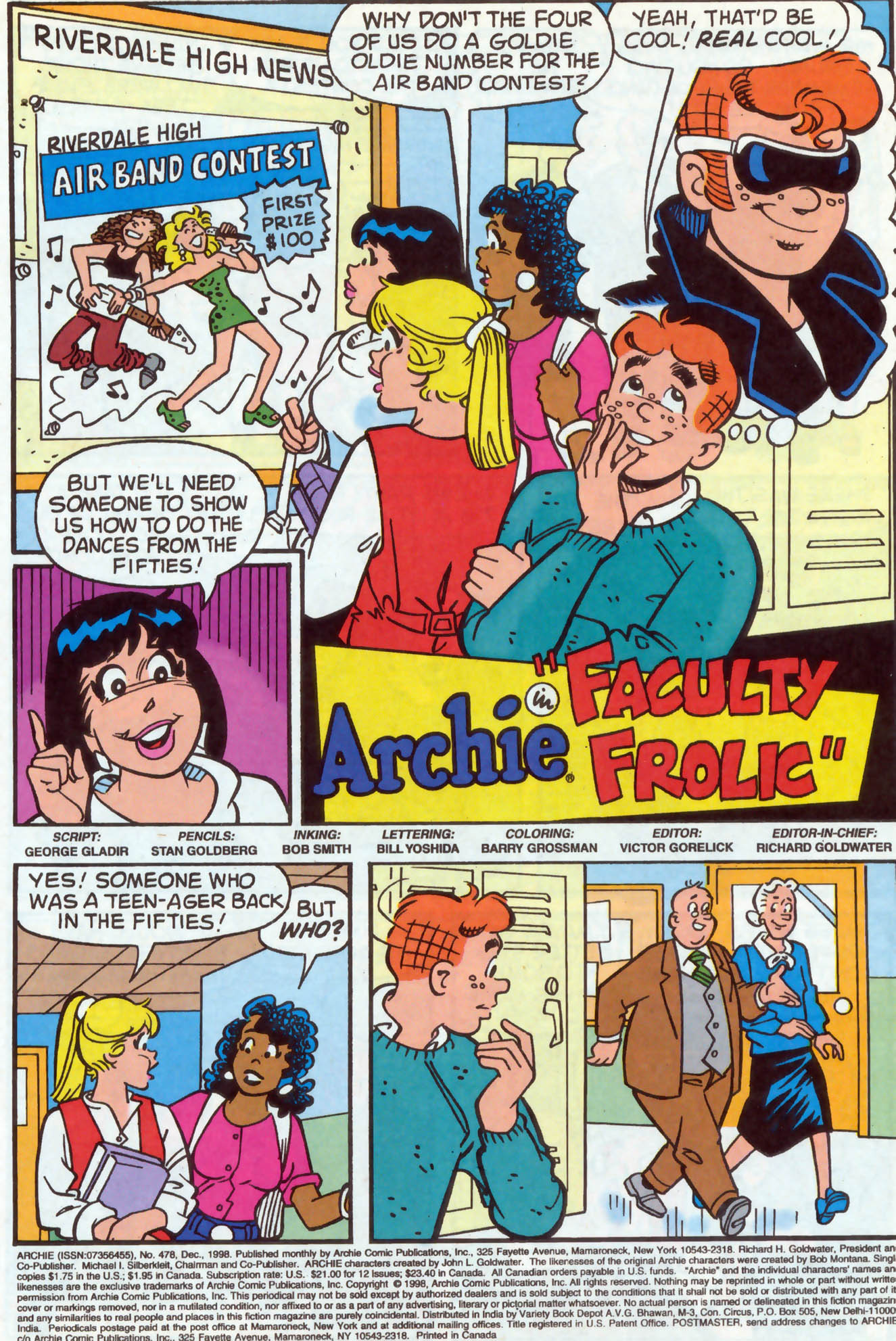 Read online Archie (1960) comic -  Issue #478 - 2