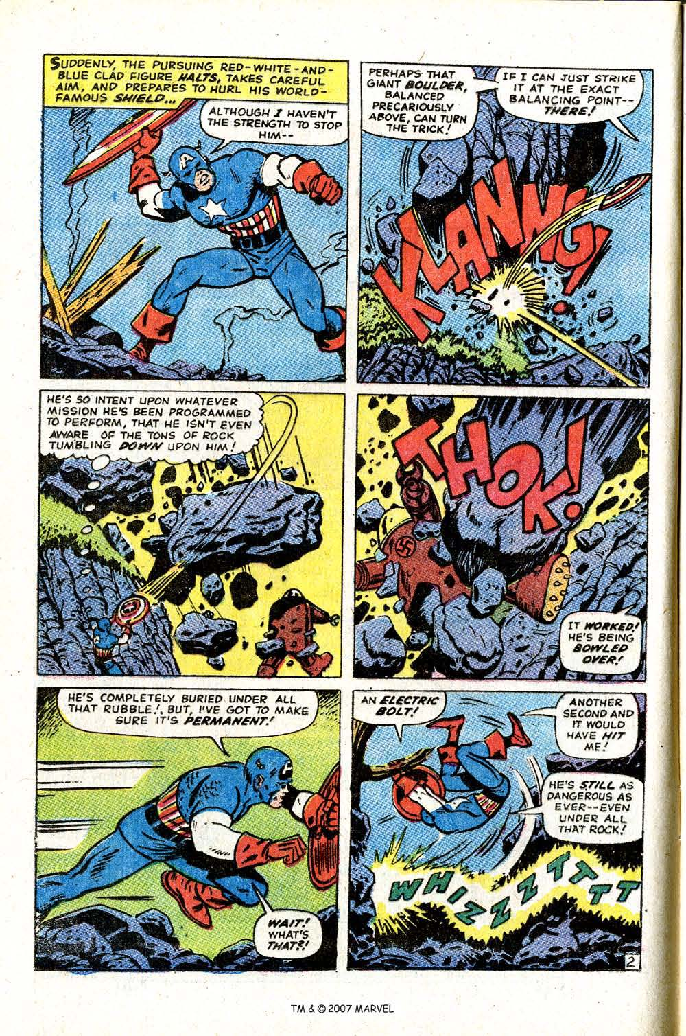 Read online Captain America (1968) comic -  Issue # _Annual 2 - 16
