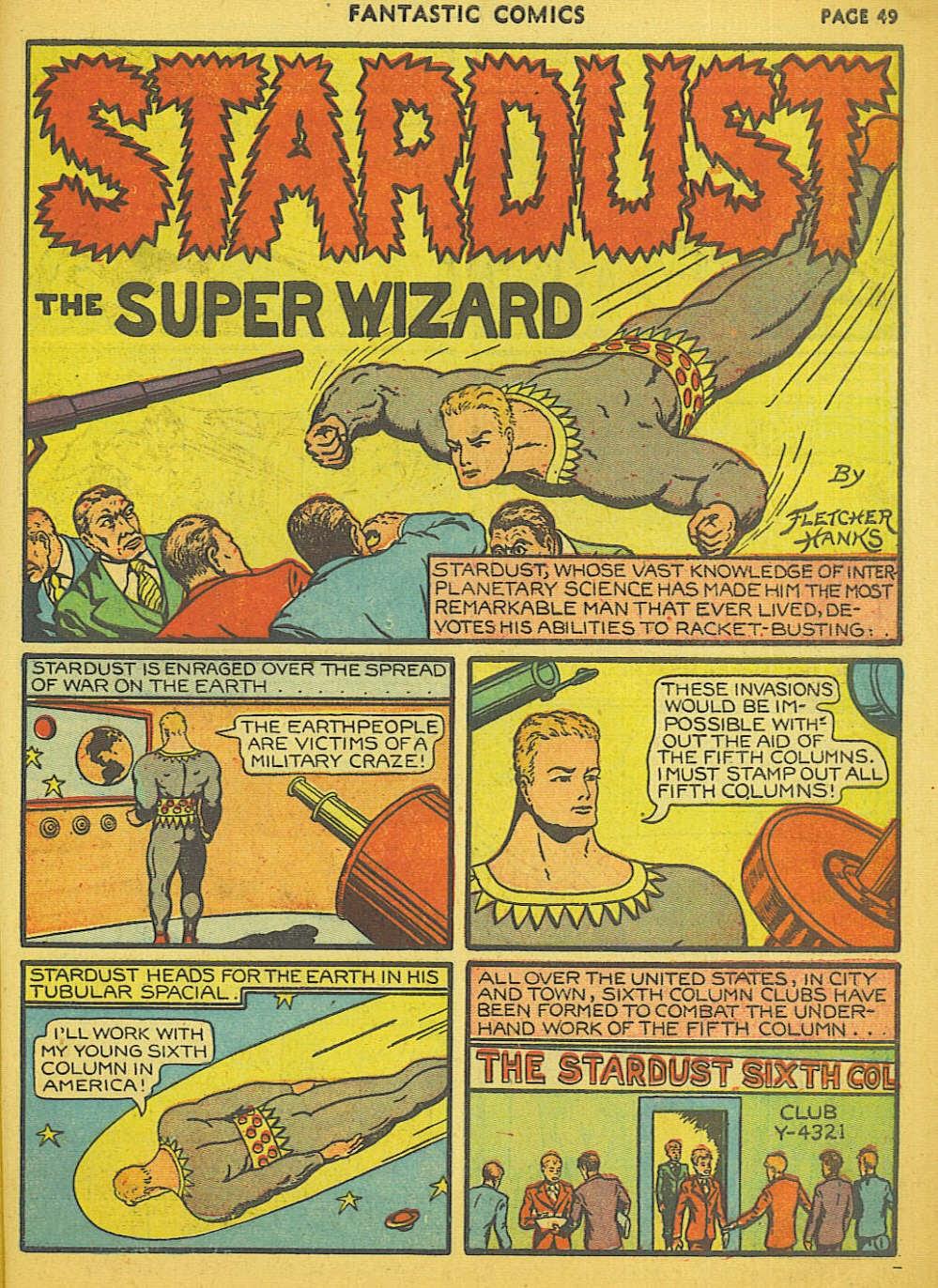 Read online Fantastic Comics comic -  Issue #15 - 43