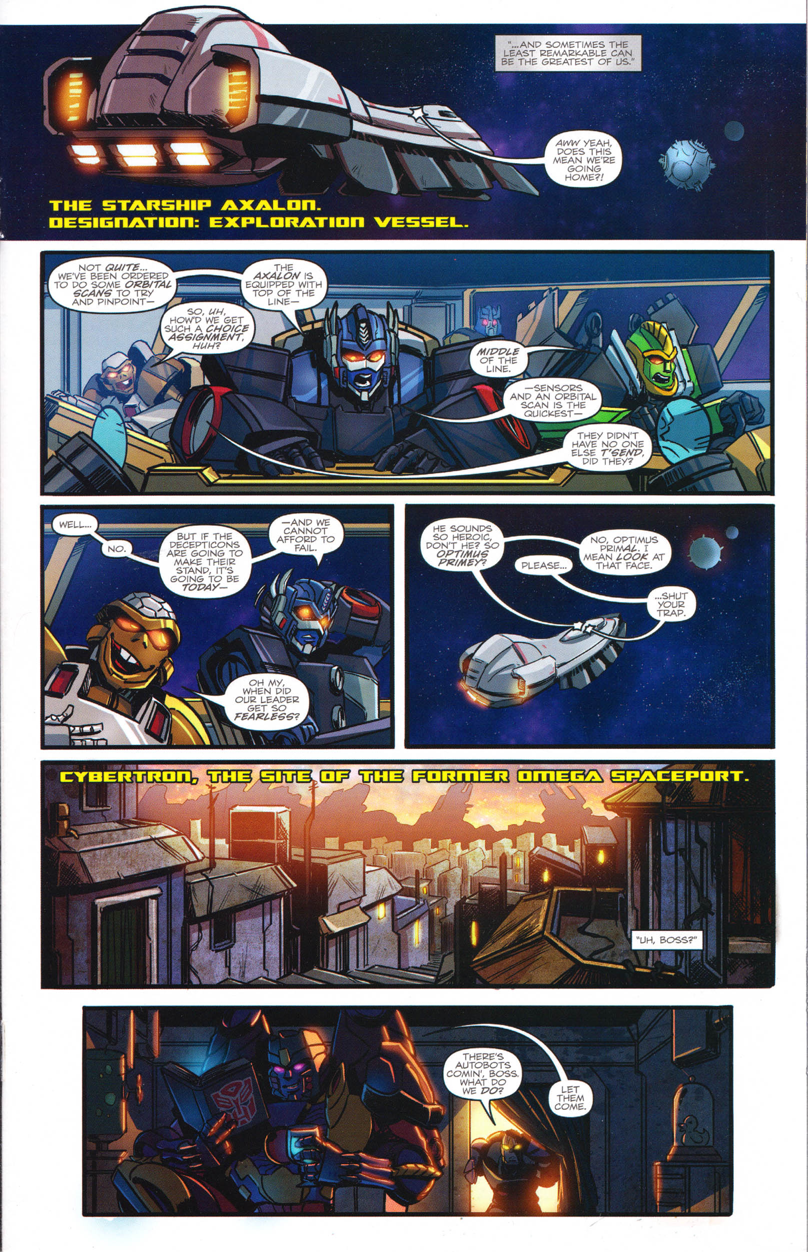 Read online Transformers: Dawn of the Predacus comic -  Issue # Full - 8