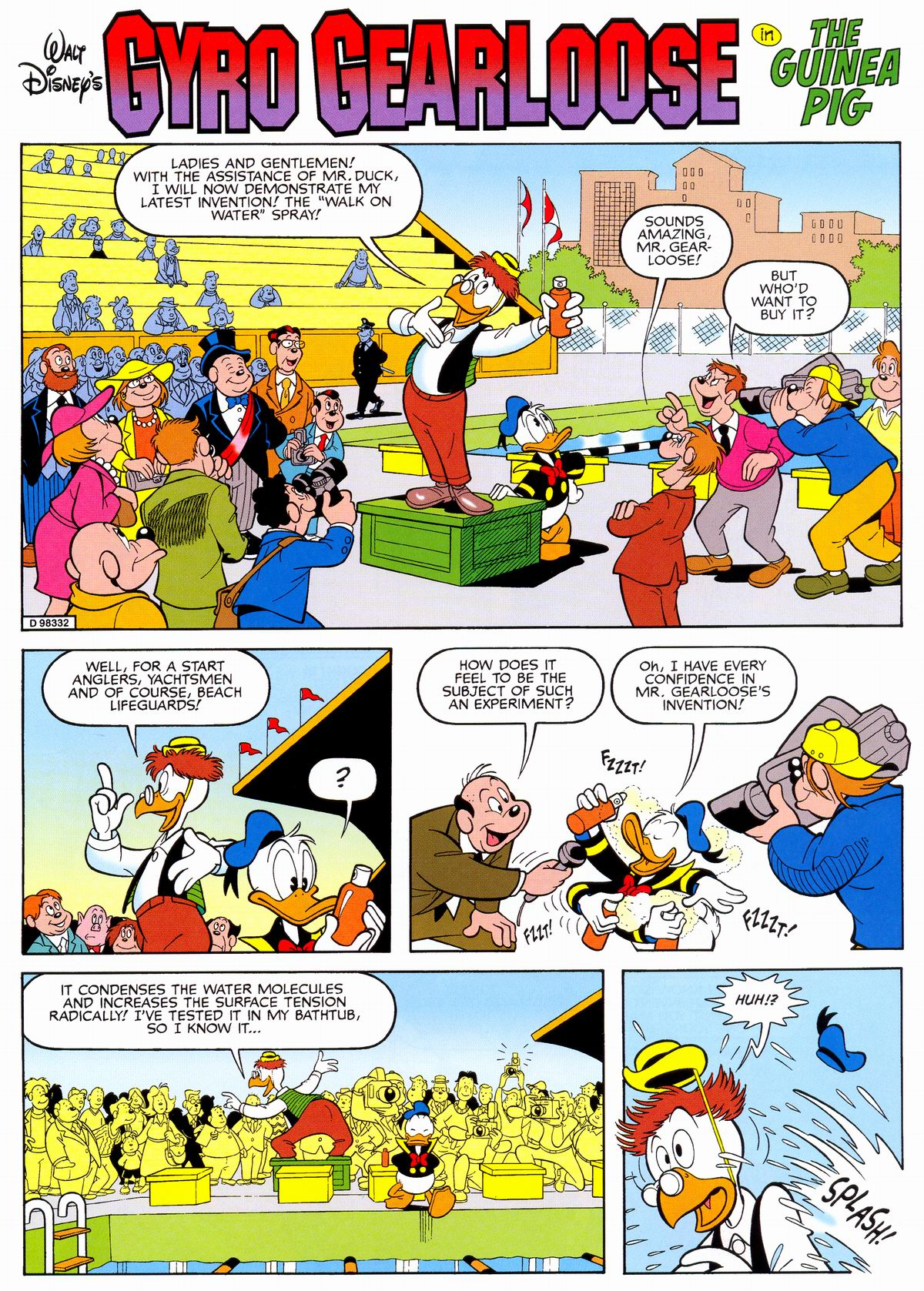 Read online Uncle Scrooge (1953) comic -  Issue #330 - 19