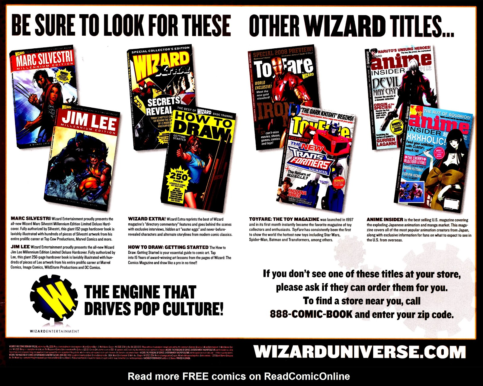 Read online Wizard How to Draw Sampler comic -  Issue # Full - 29