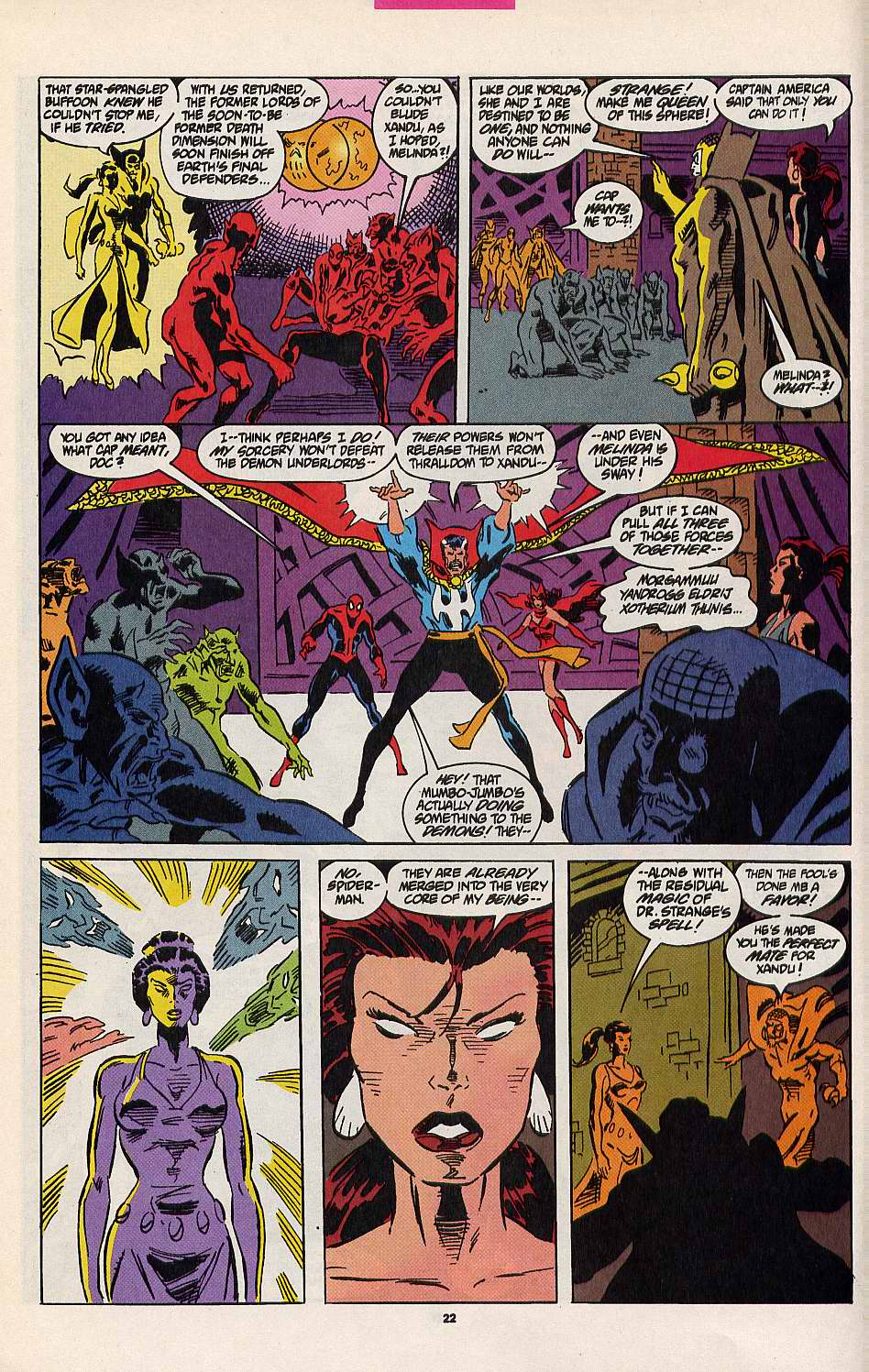 Read online Secret Defenders comic -  Issue #8 - 17