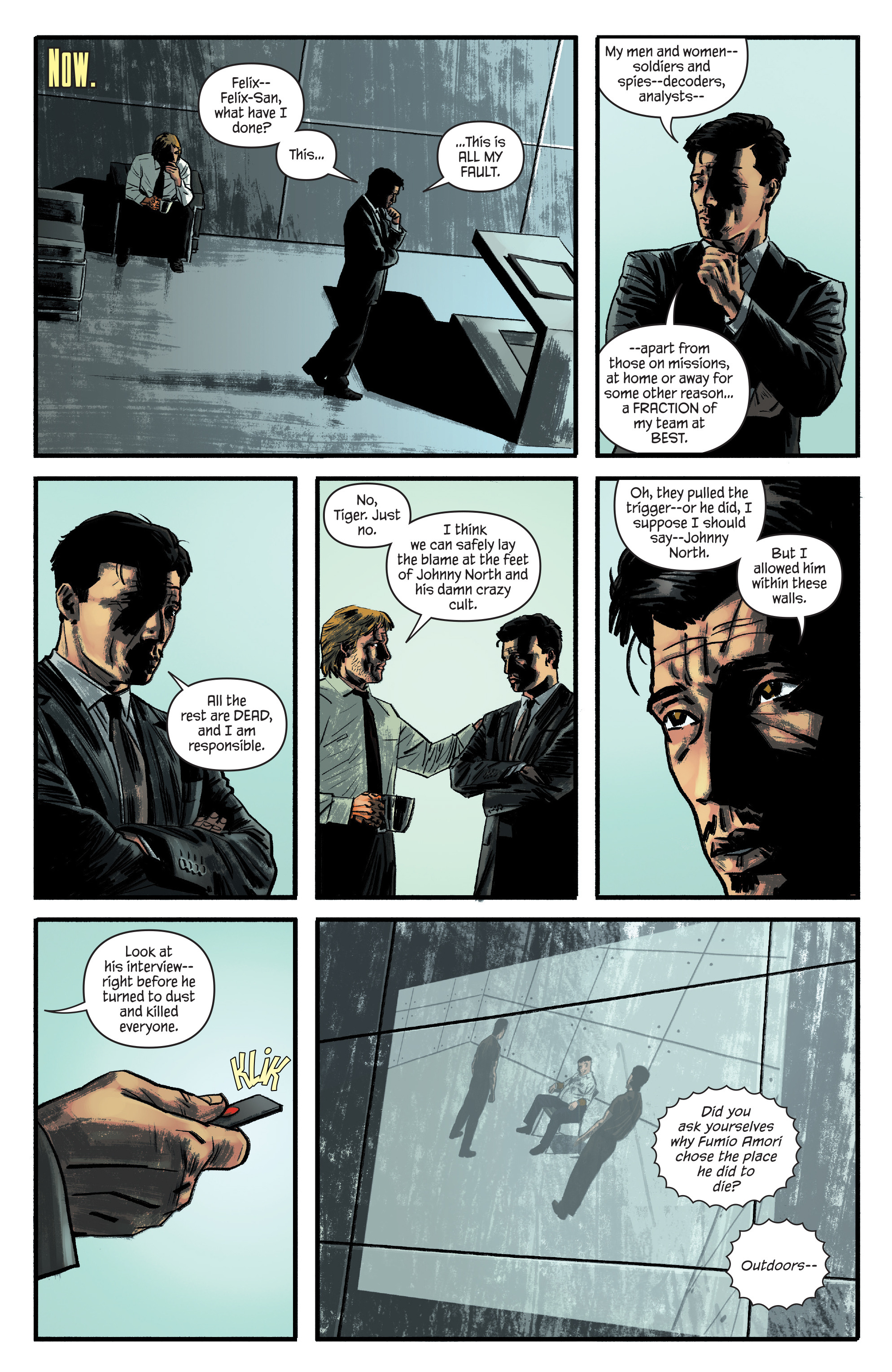 Read online James Bond: Felix Leiter comic -  Issue #4 - 8