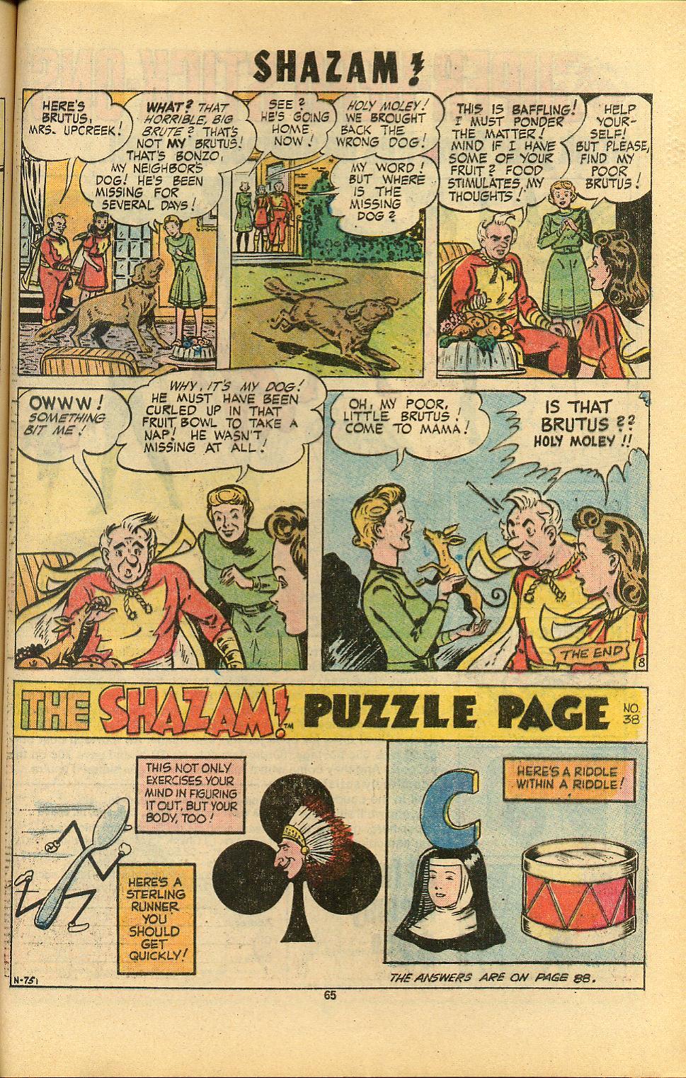 Read online Shazam! (1973) comic -  Issue #8 - 65