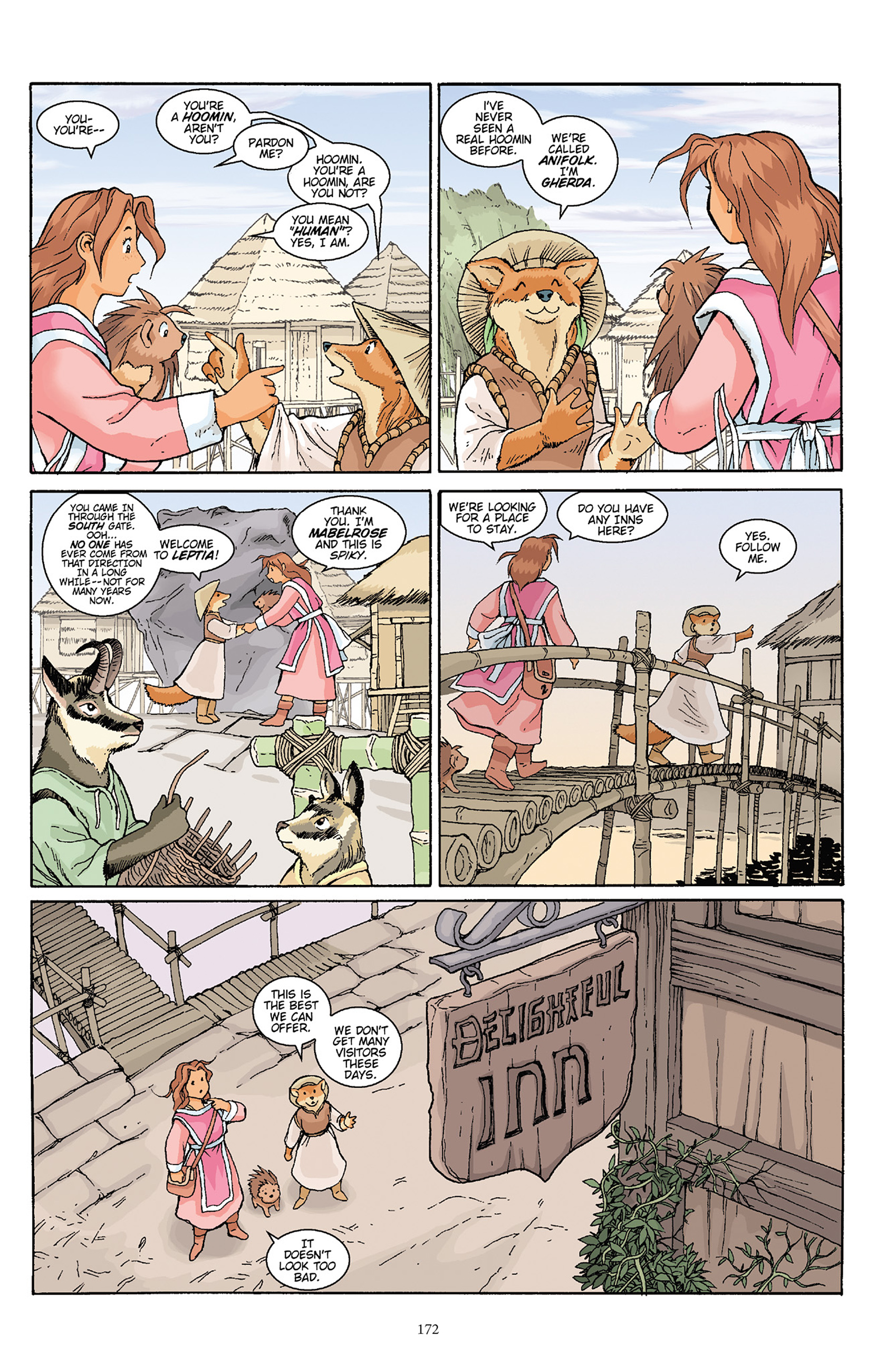 Read online Courageous Princess comic -  Issue # TPB 1 - 170