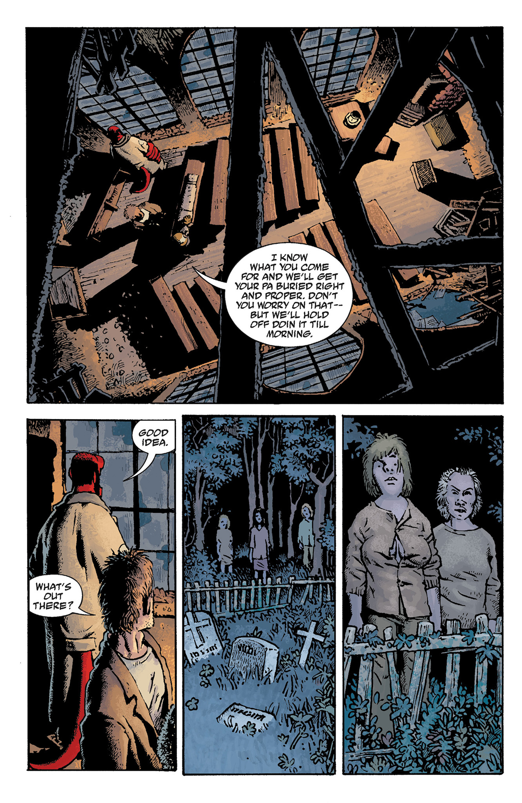 Read online Hellboy: The Crooked Man and Others comic -  Issue # TPB - 52