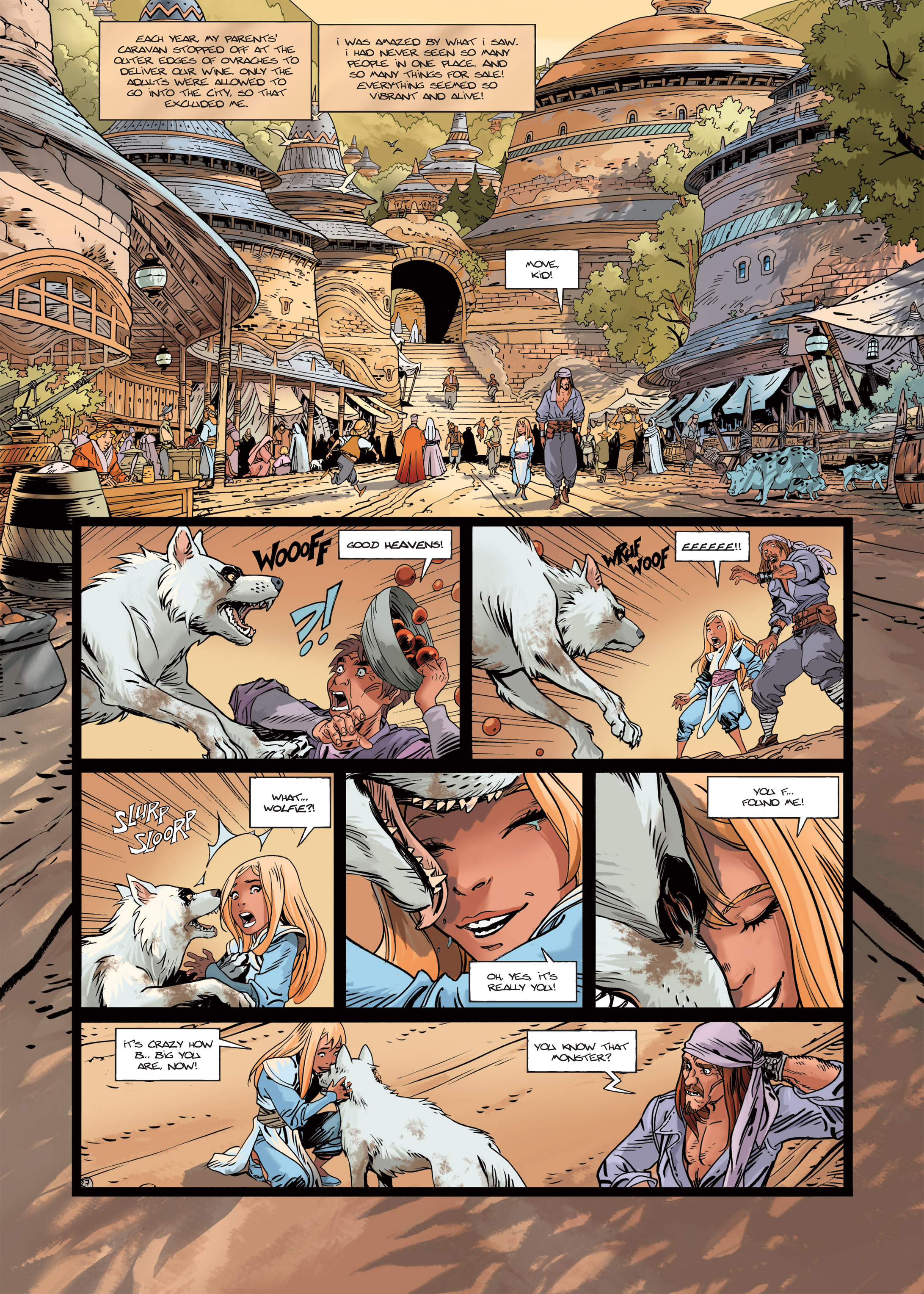 Read online Sangre Vol. 1: Sangre the Survivor comic -  Issue # Full - 29