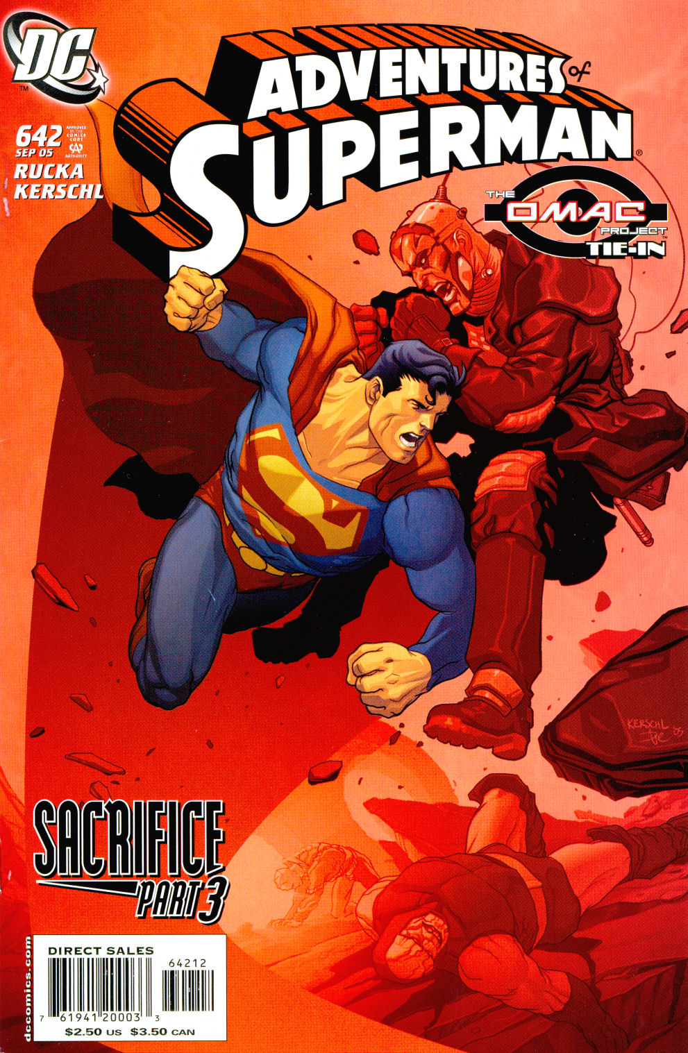 Read online Adventures of Superman (1987) comic -  Issue #642 - 2
