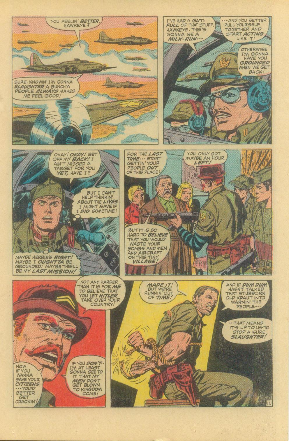 Read online Sgt. Fury comic -  Issue #94 - 17