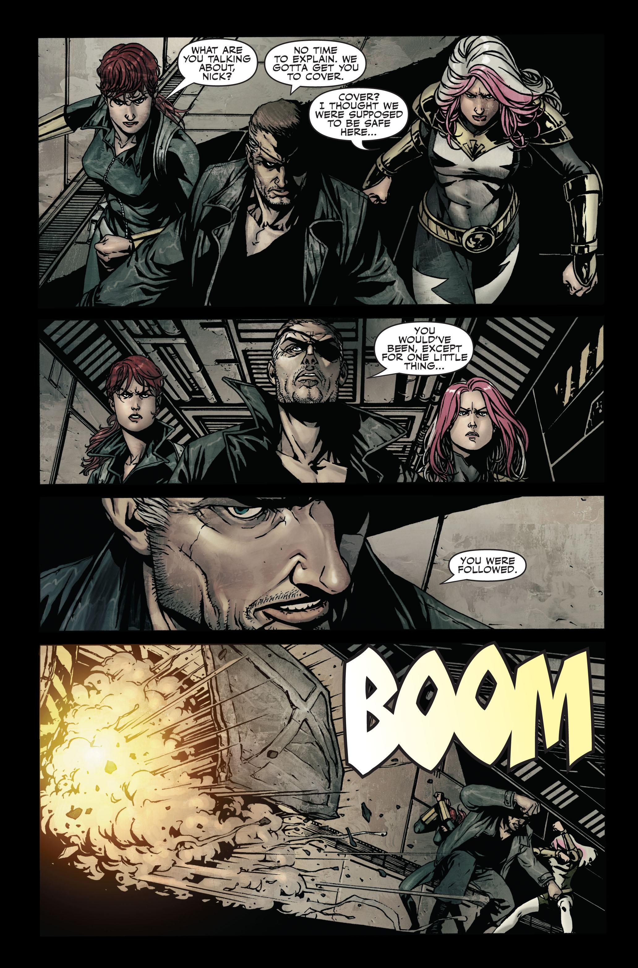 Read online Secret Warriors comic -  Issue #7 - 24