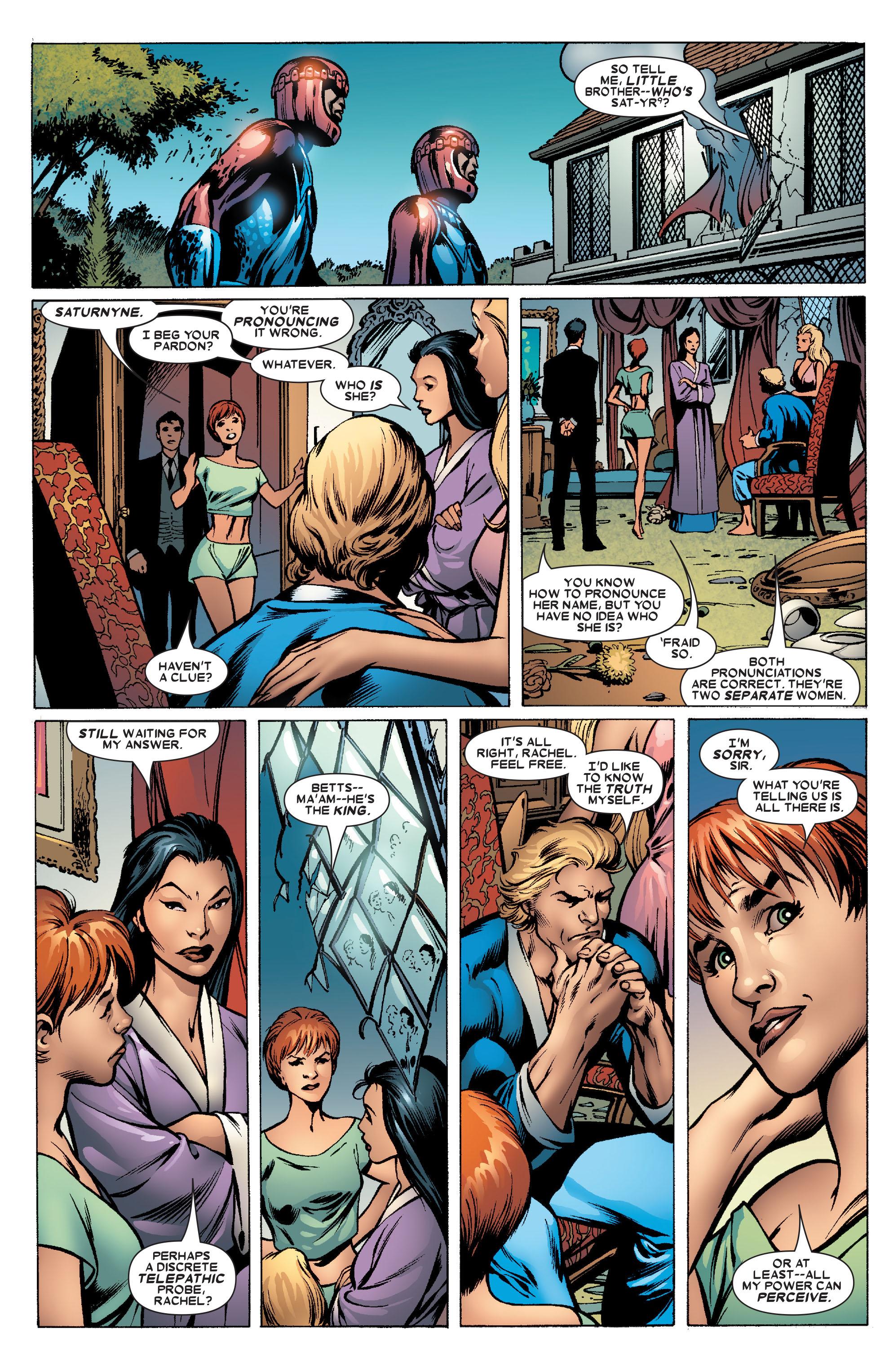 Read online Uncanny X-Men (1963) comic -  Issue #463 - 15