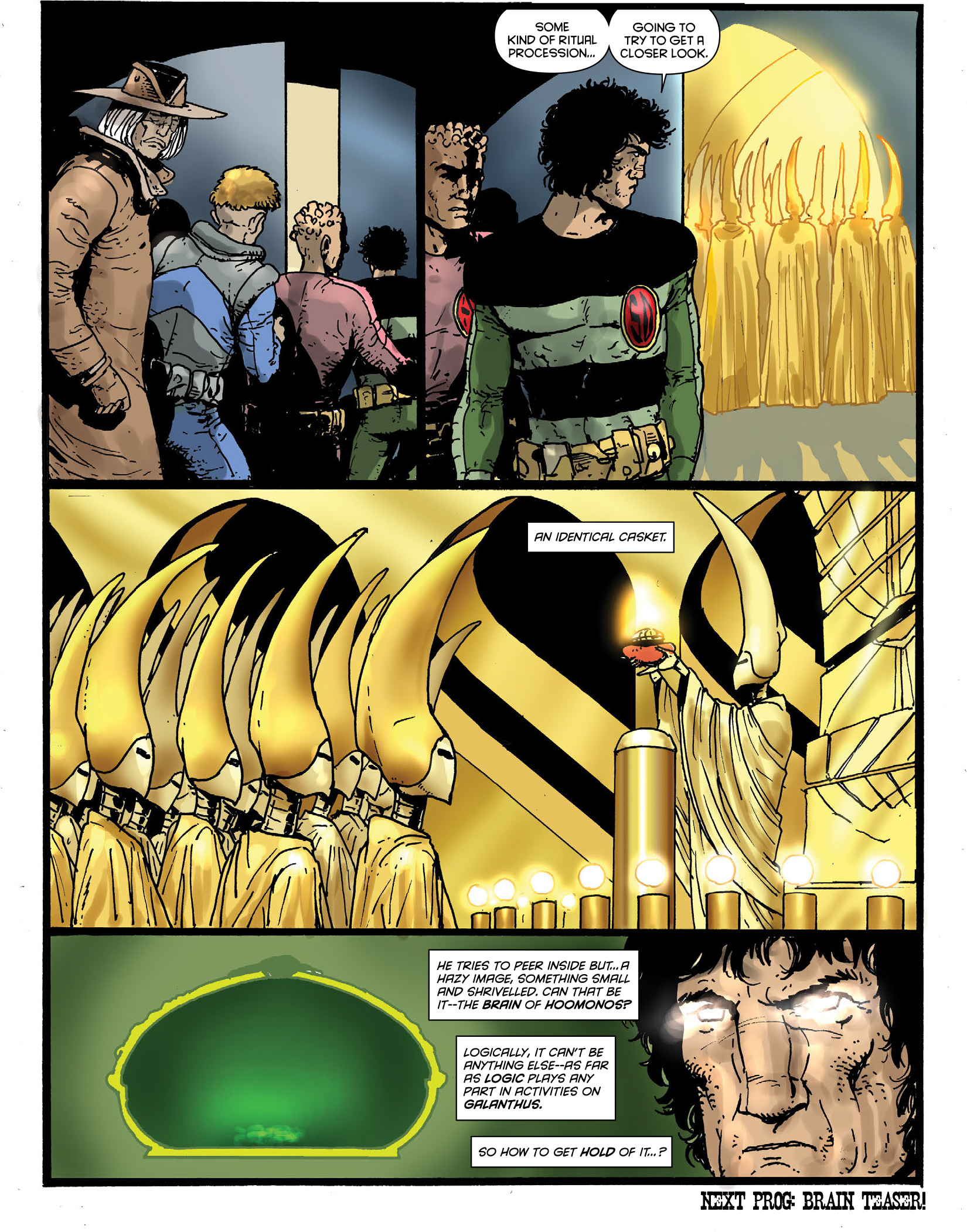 Read online 2000 AD comic -  Issue #1964 - 31